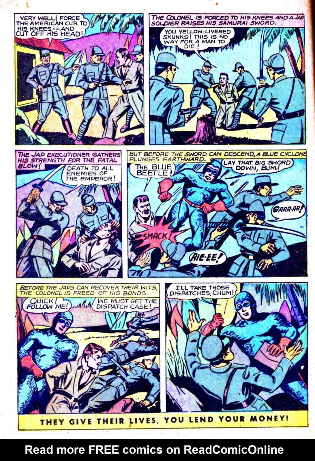 The Blue Beetle issue 31 - Page 22