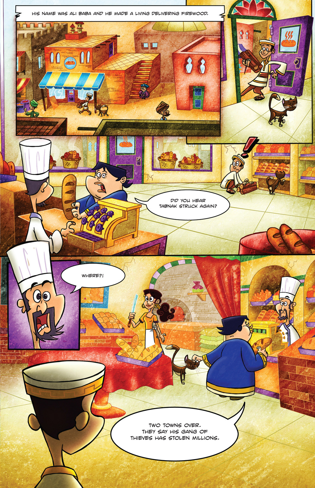 Read online 1001 Nights comic -  Issue #4 - 5