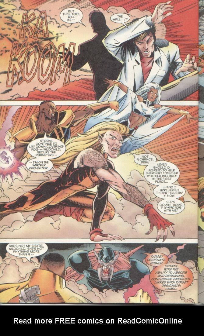 Read online Uncanny X-Men (1963) comic -  Issue # _Annual 1996 - 35