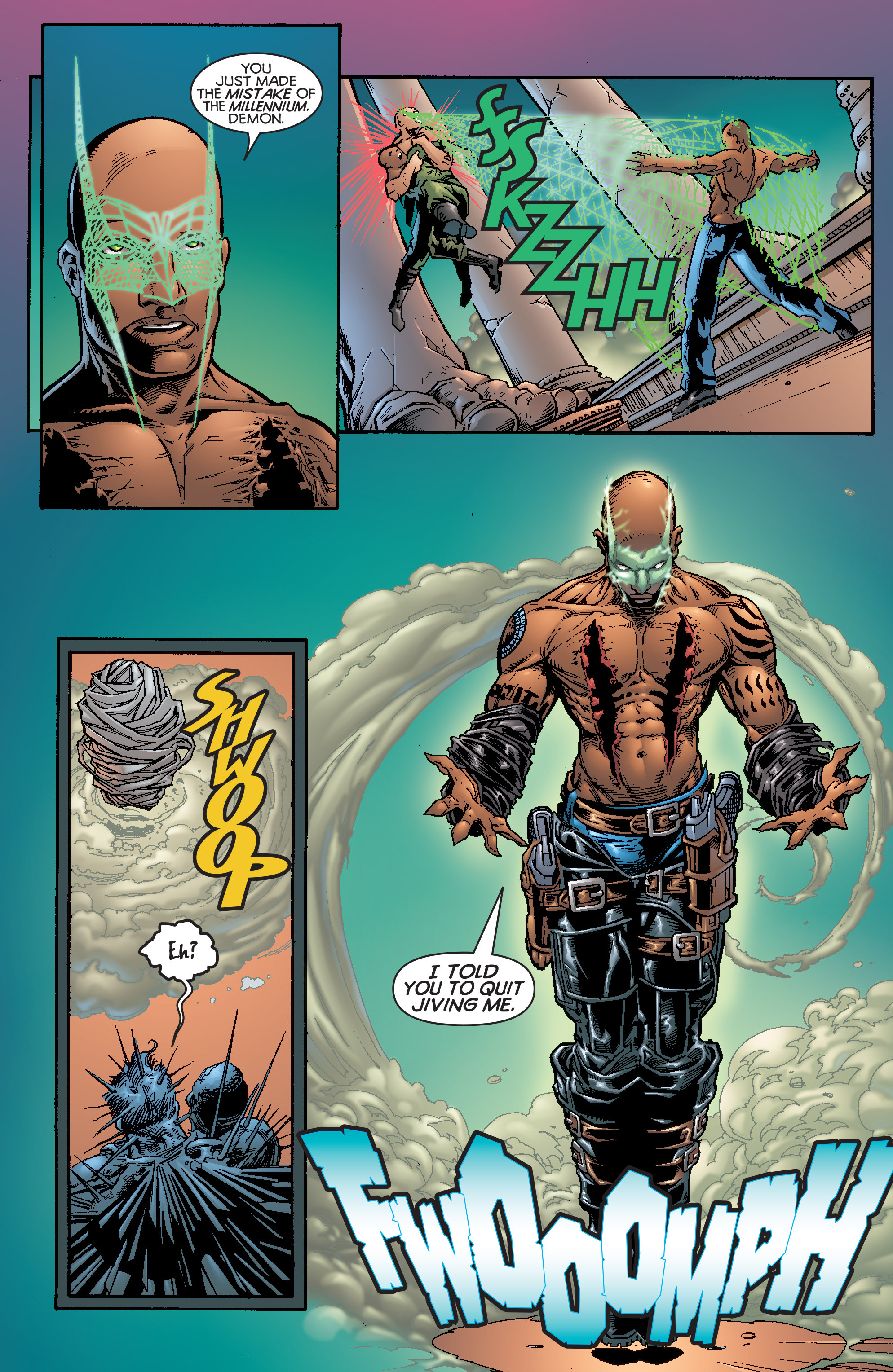 Read online Shadowman (1997) comic -  Issue #20 - 18