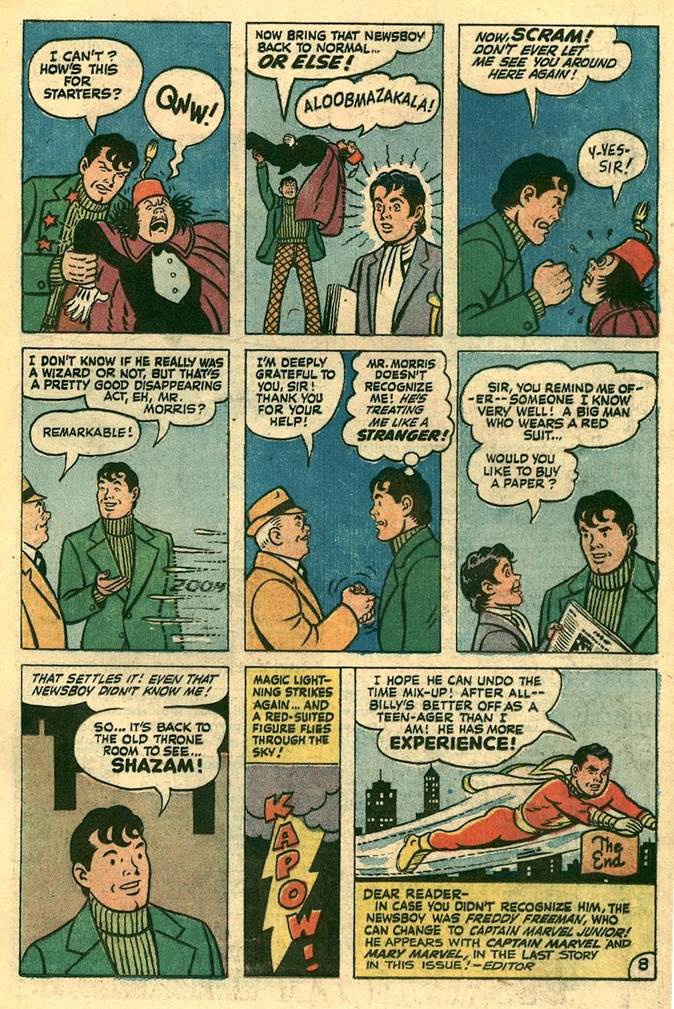Read online Shazam! (1973) comic -  Issue #3 - 9