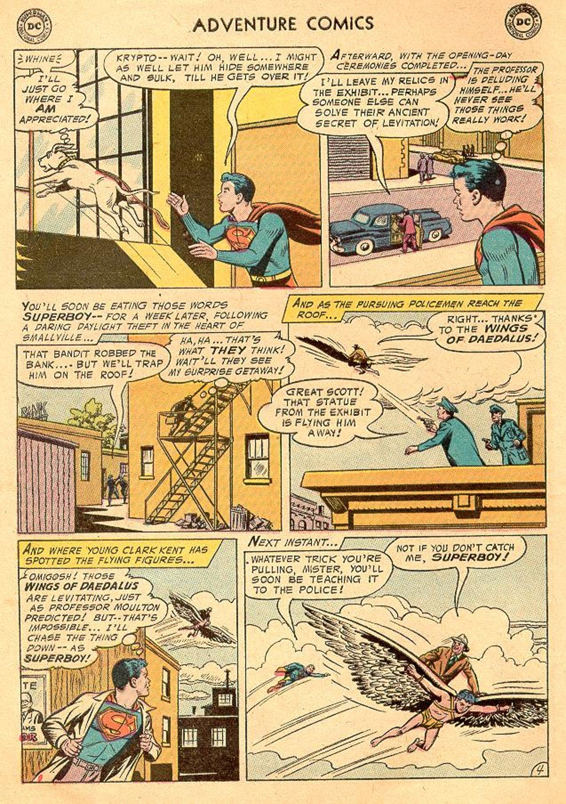 Read online Adventure Comics (1938) comic -  Issue #226 - 6