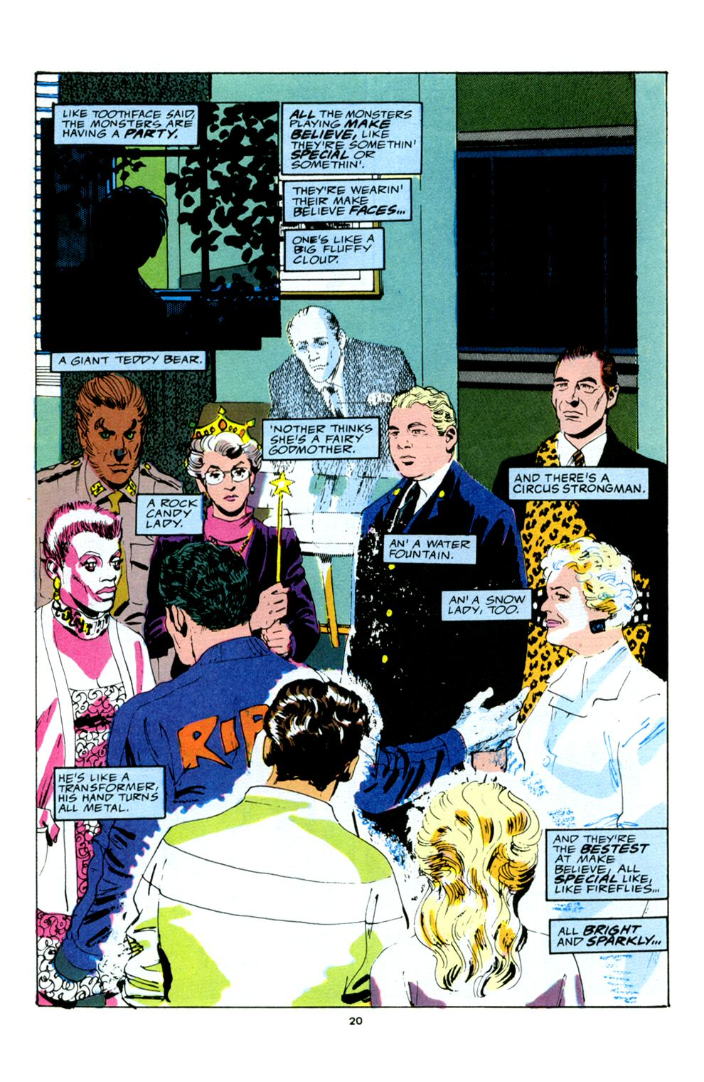 Read online Powerline comic -  Issue #5 - 22
