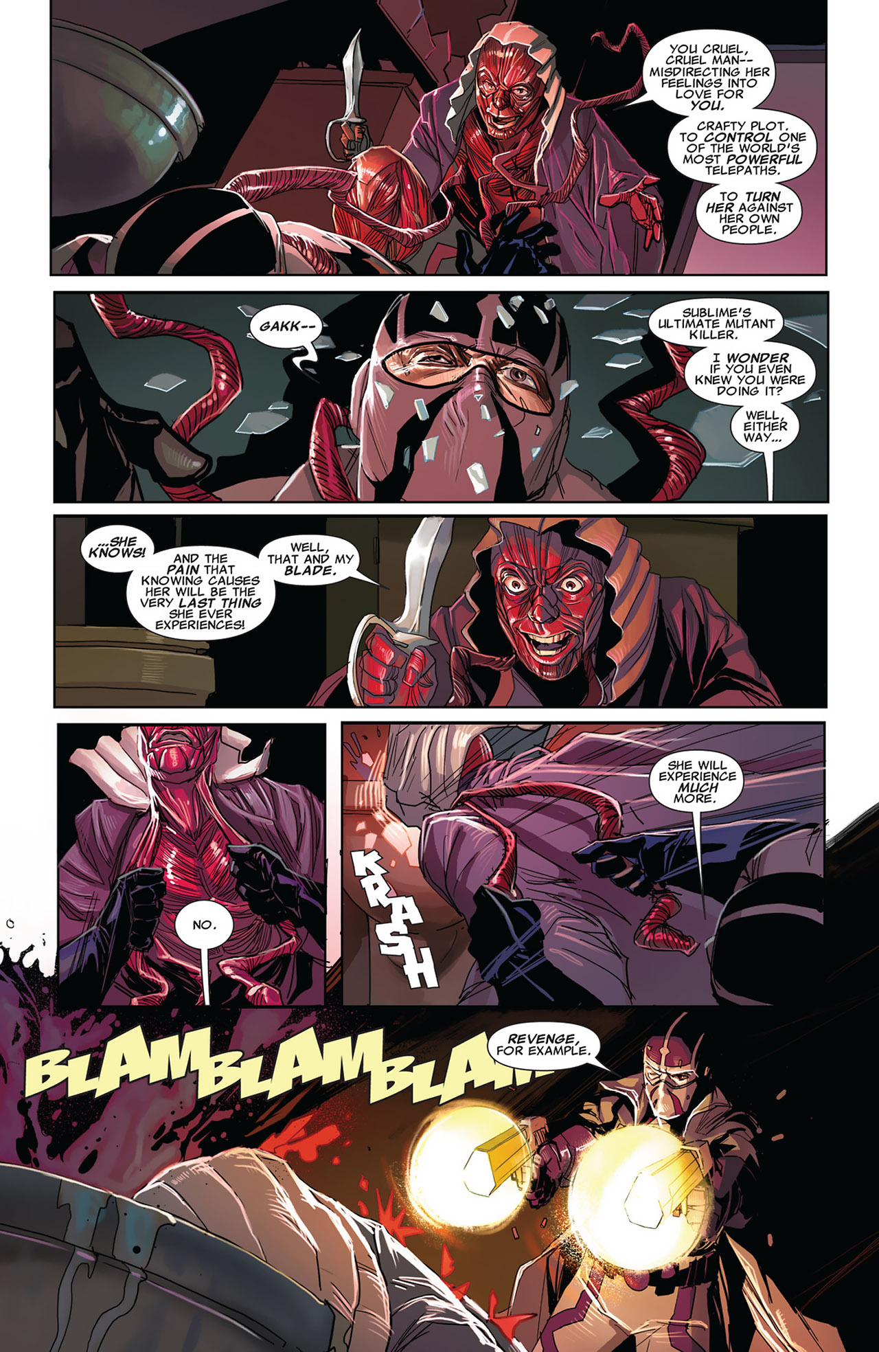 Read online Uncanny X-Force (2010) comic -  Issue #27 - 12