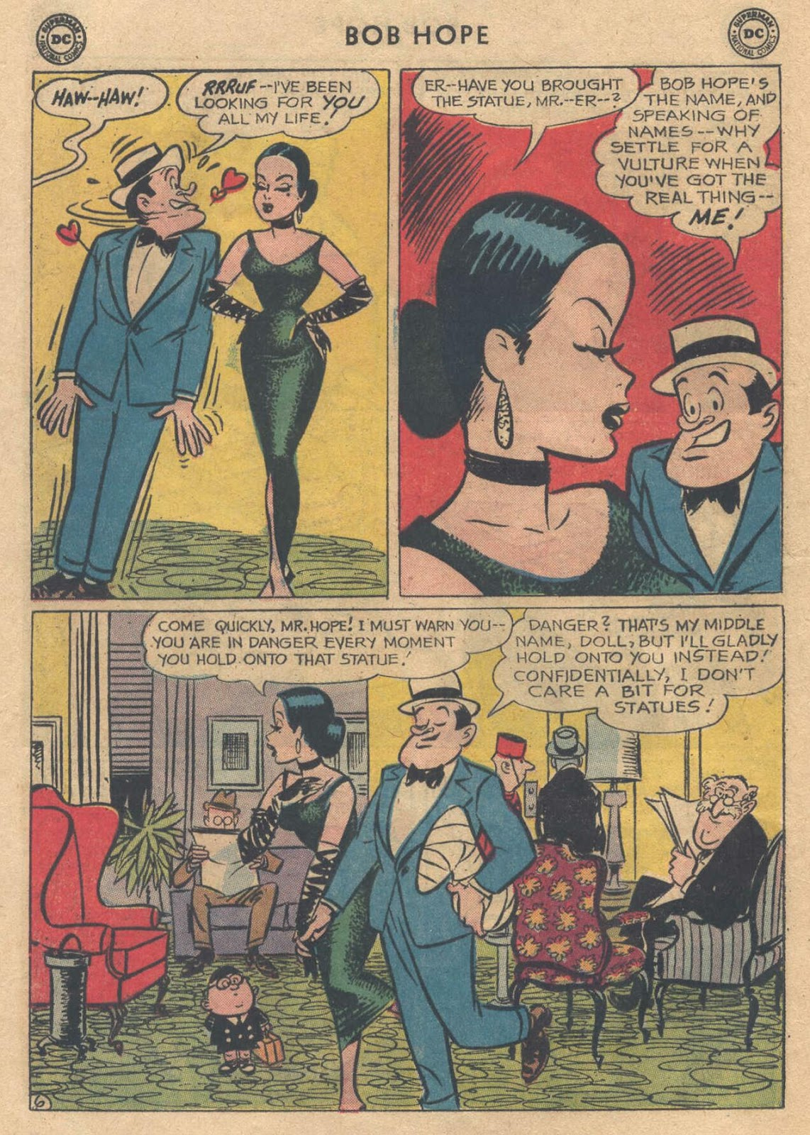 The Adventures of Bob Hope issue 76 - Page 8