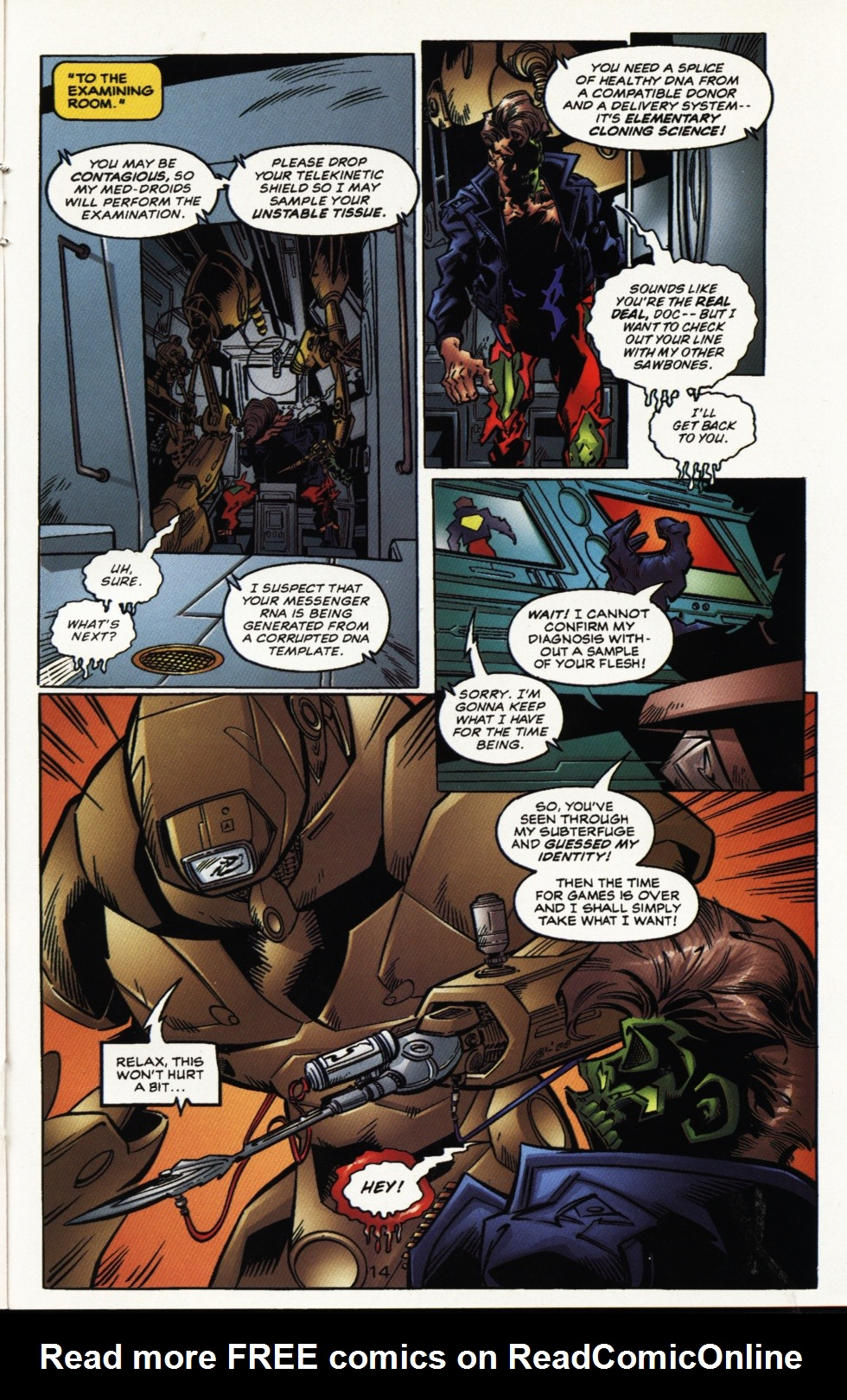 Read online Superboy & The Ravers comic -  Issue #10 - 14