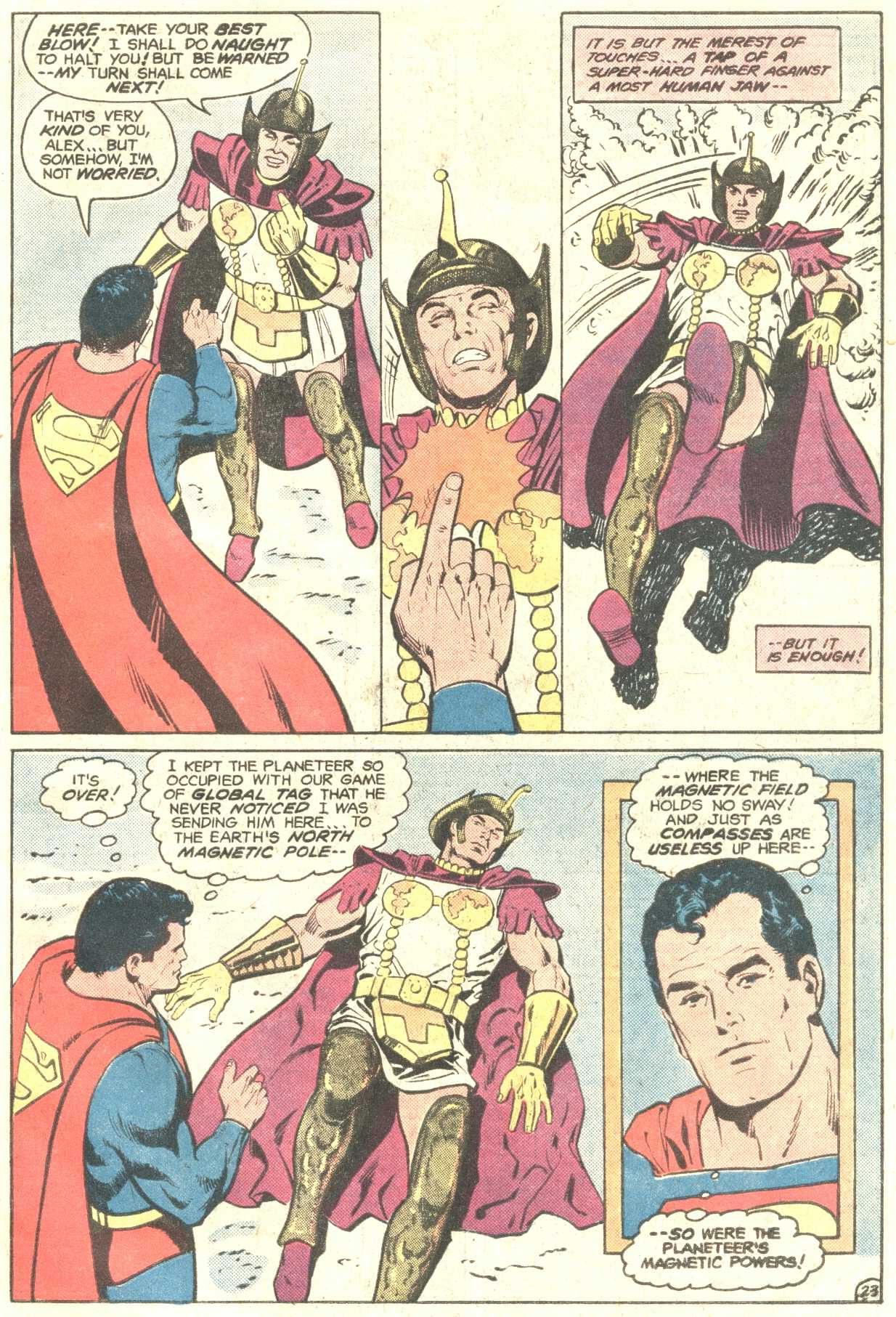 Read online Action Comics (1938) comic -  Issue #547 - 31