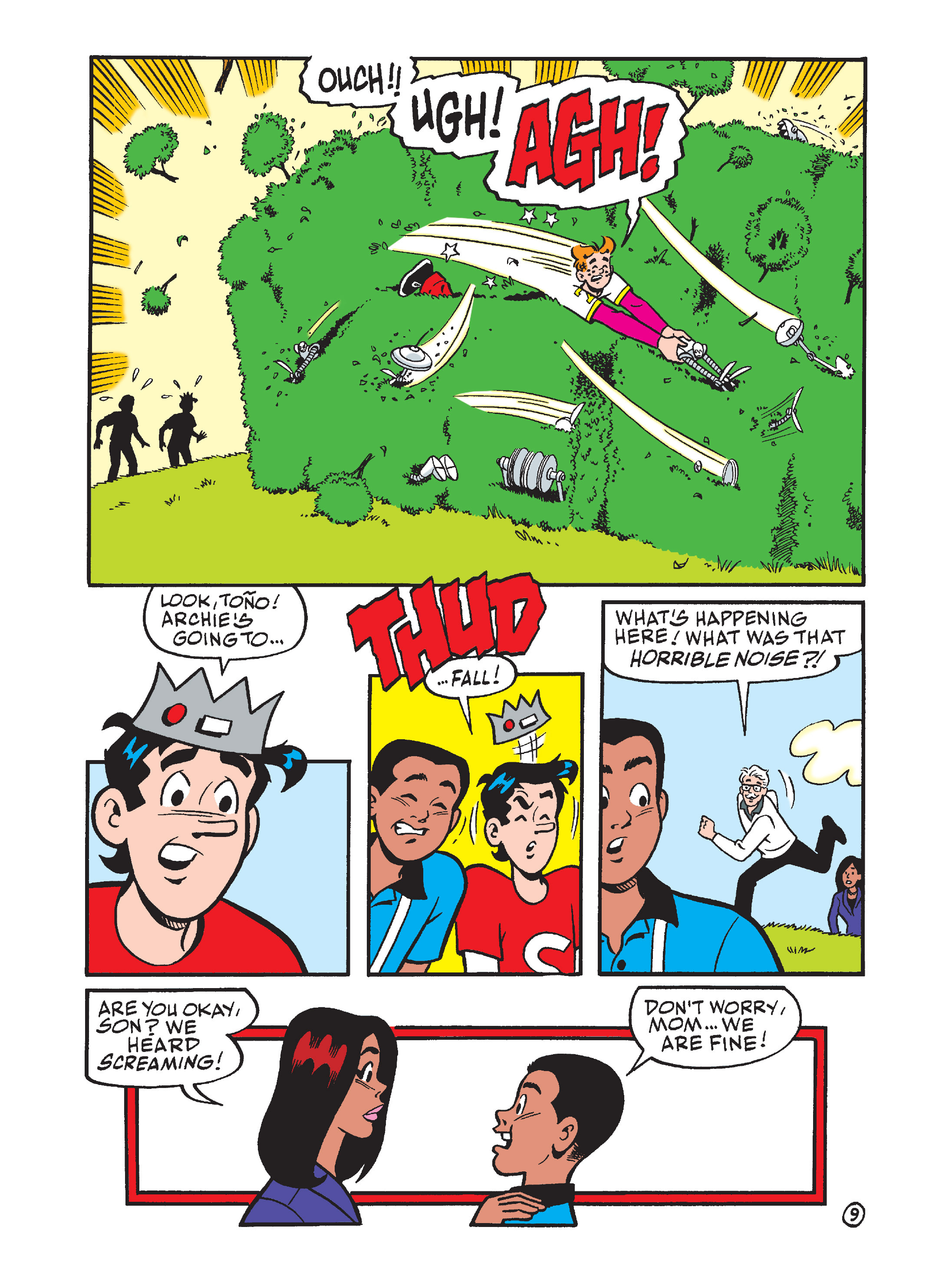 Read online Archie's Funhouse Double Digest comic -  Issue #7 - 88