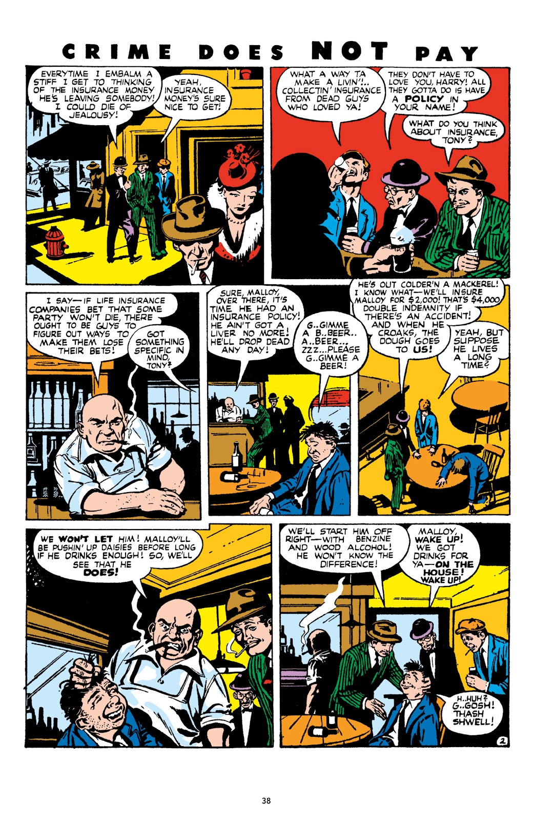 Read online Crime Does Not Pay Archives comic -  Issue # TPB 9 (Part 1) - 40