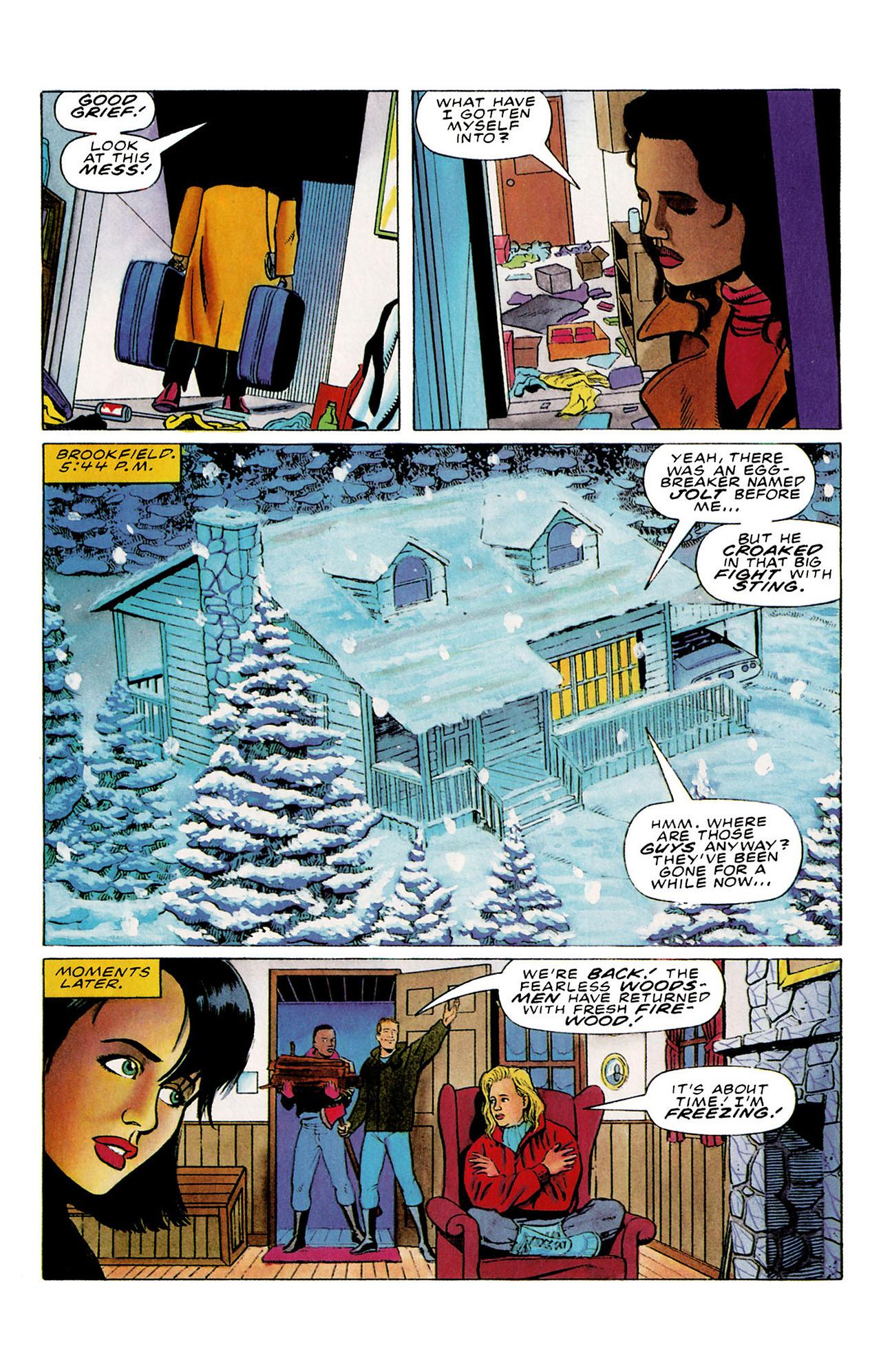 Read online Harbinger (1992) comic -  Issue #27 - 8