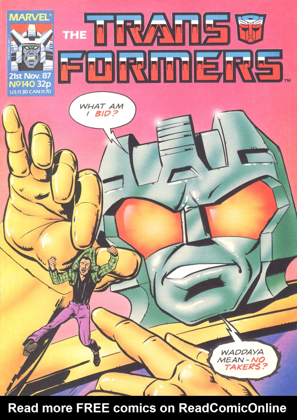 The Transformers (UK) 140 Page 1