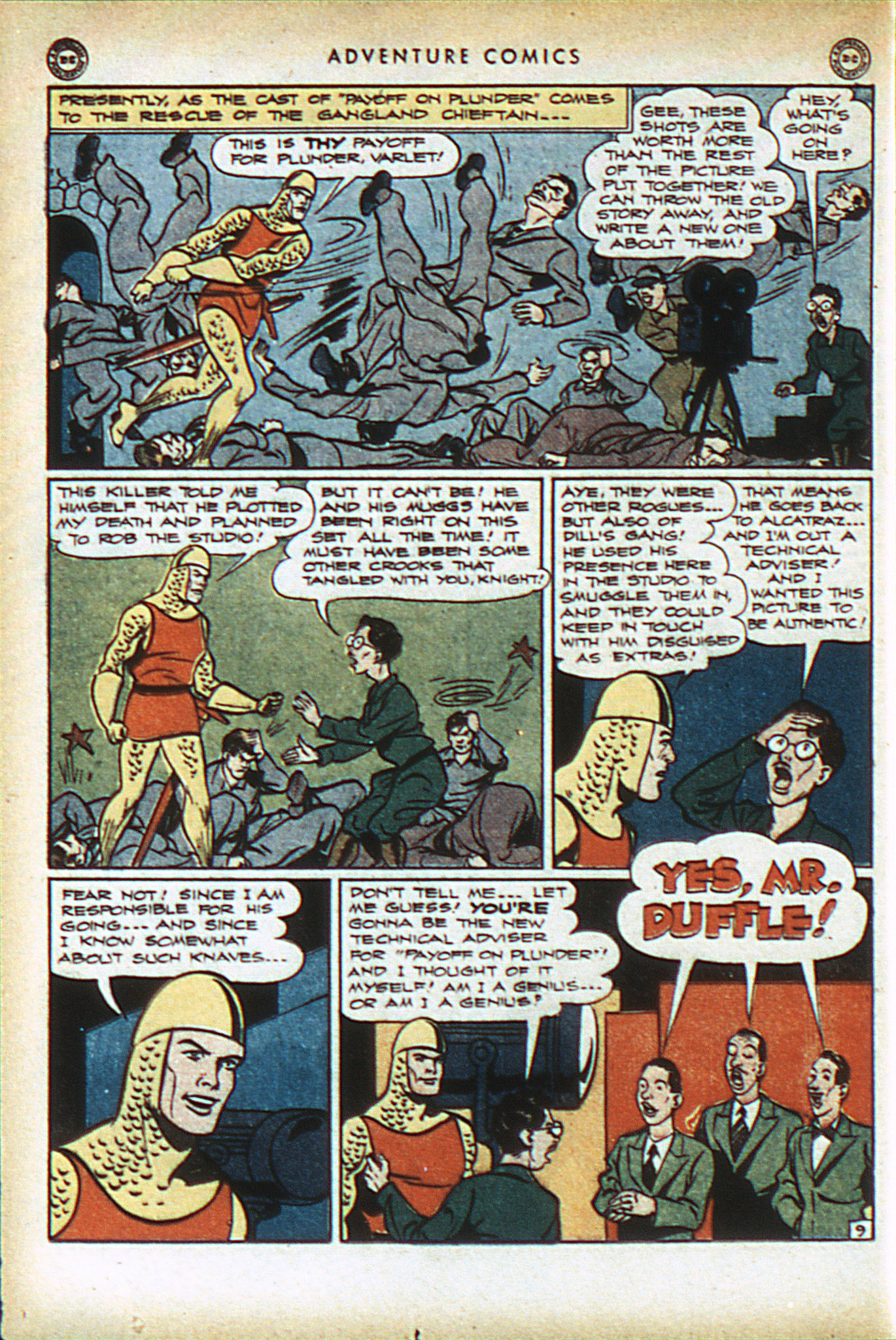 Read online Adventure Comics (1938) comic -  Issue #93 - 23