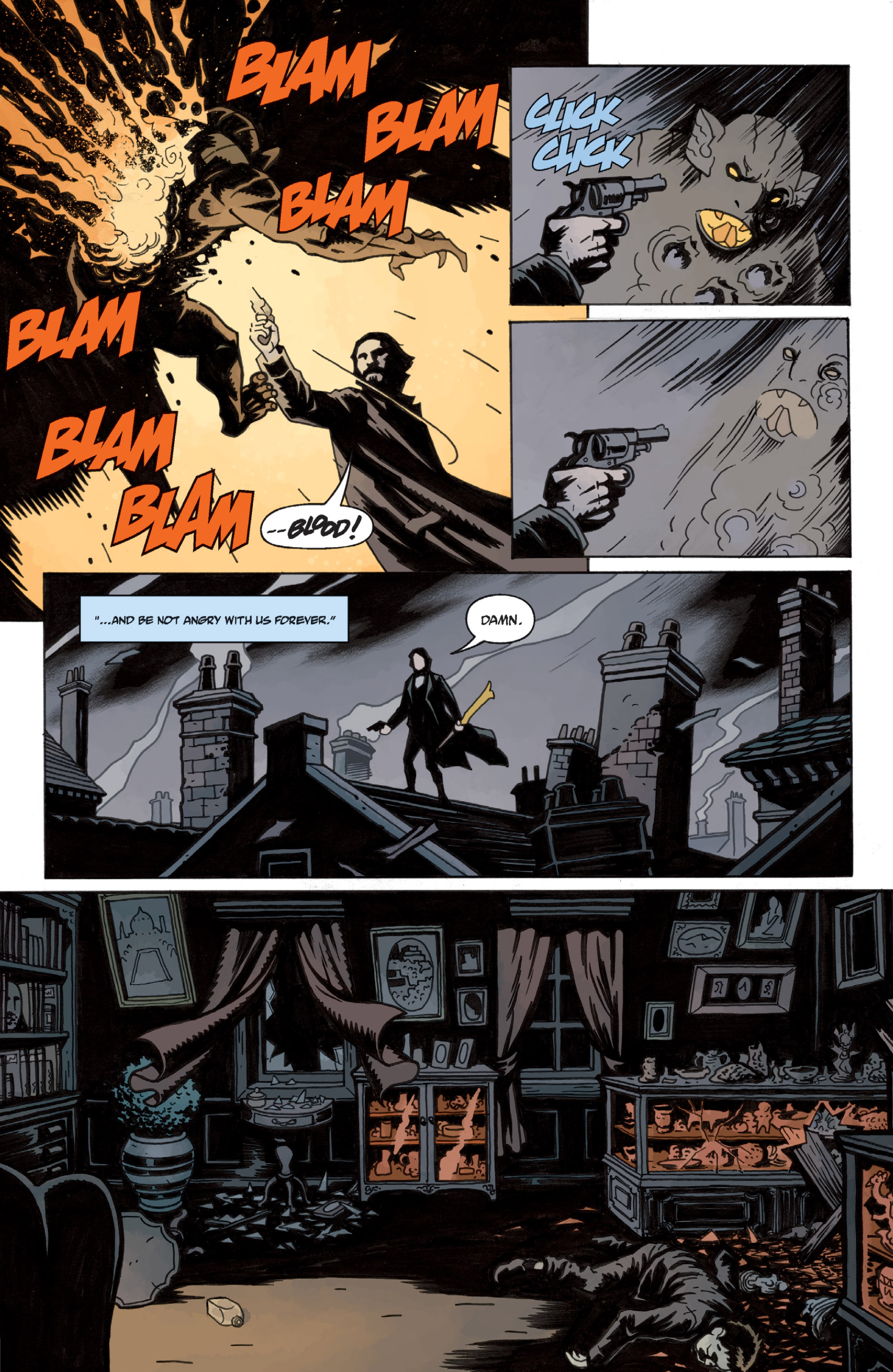 Read online Sir Edward Grey, Witchfinder: In the Service of Angels comic -  Issue # TPB - 22