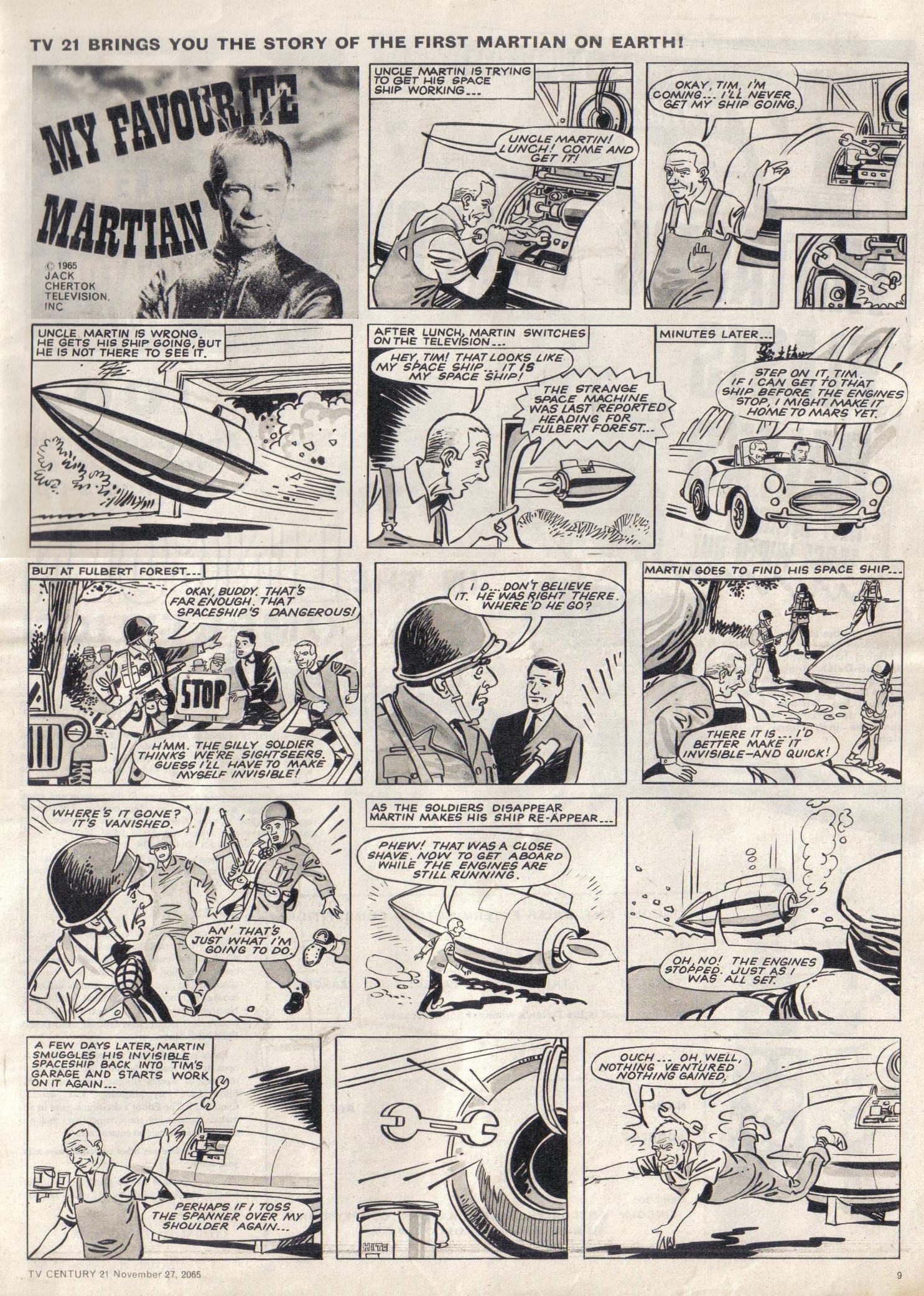 Read online TV Century 21 (TV 21) comic -  Issue #45 - 9