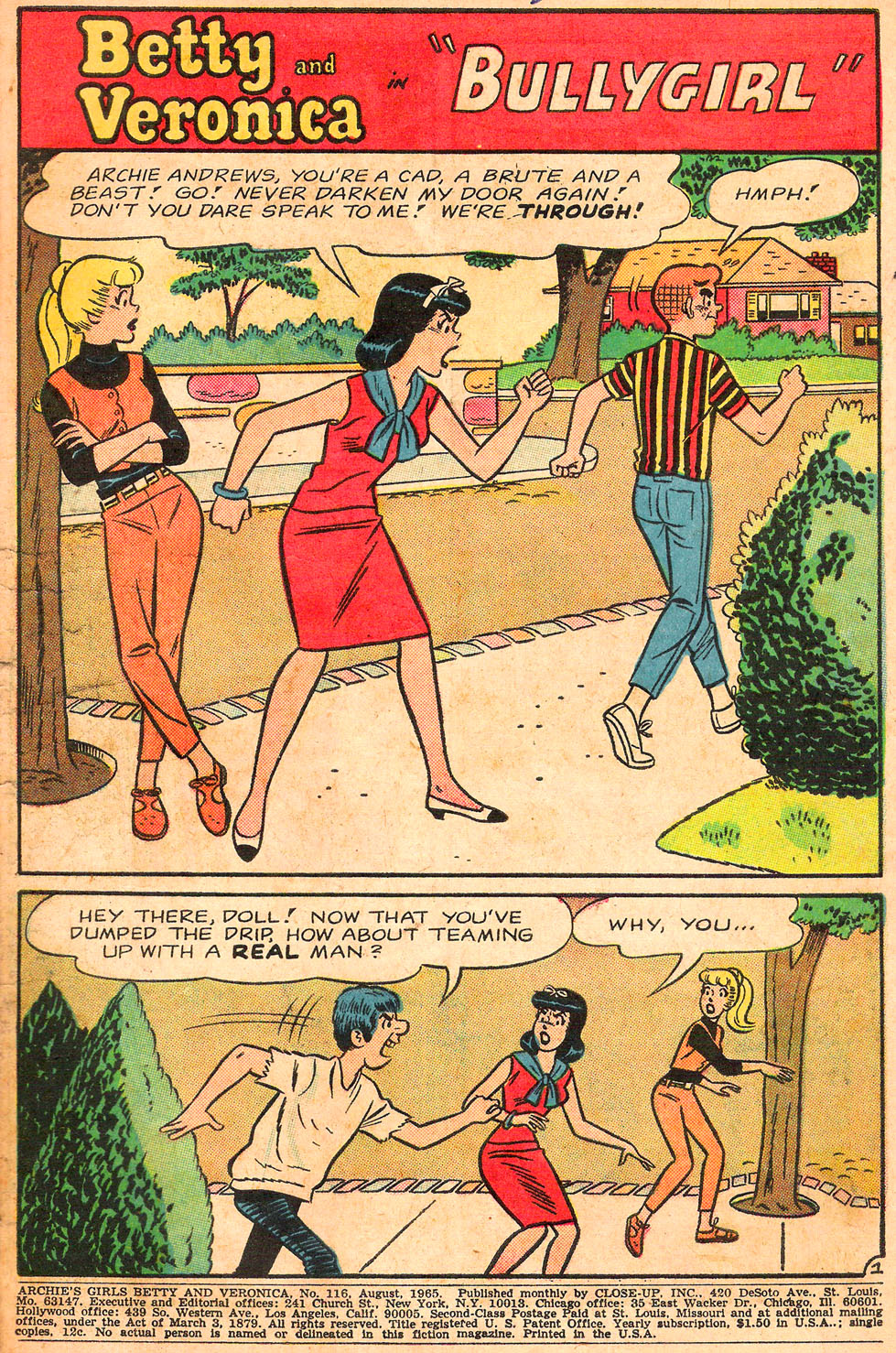 Read online Archie's Girls Betty and Veronica comic -  Issue #116 - 3