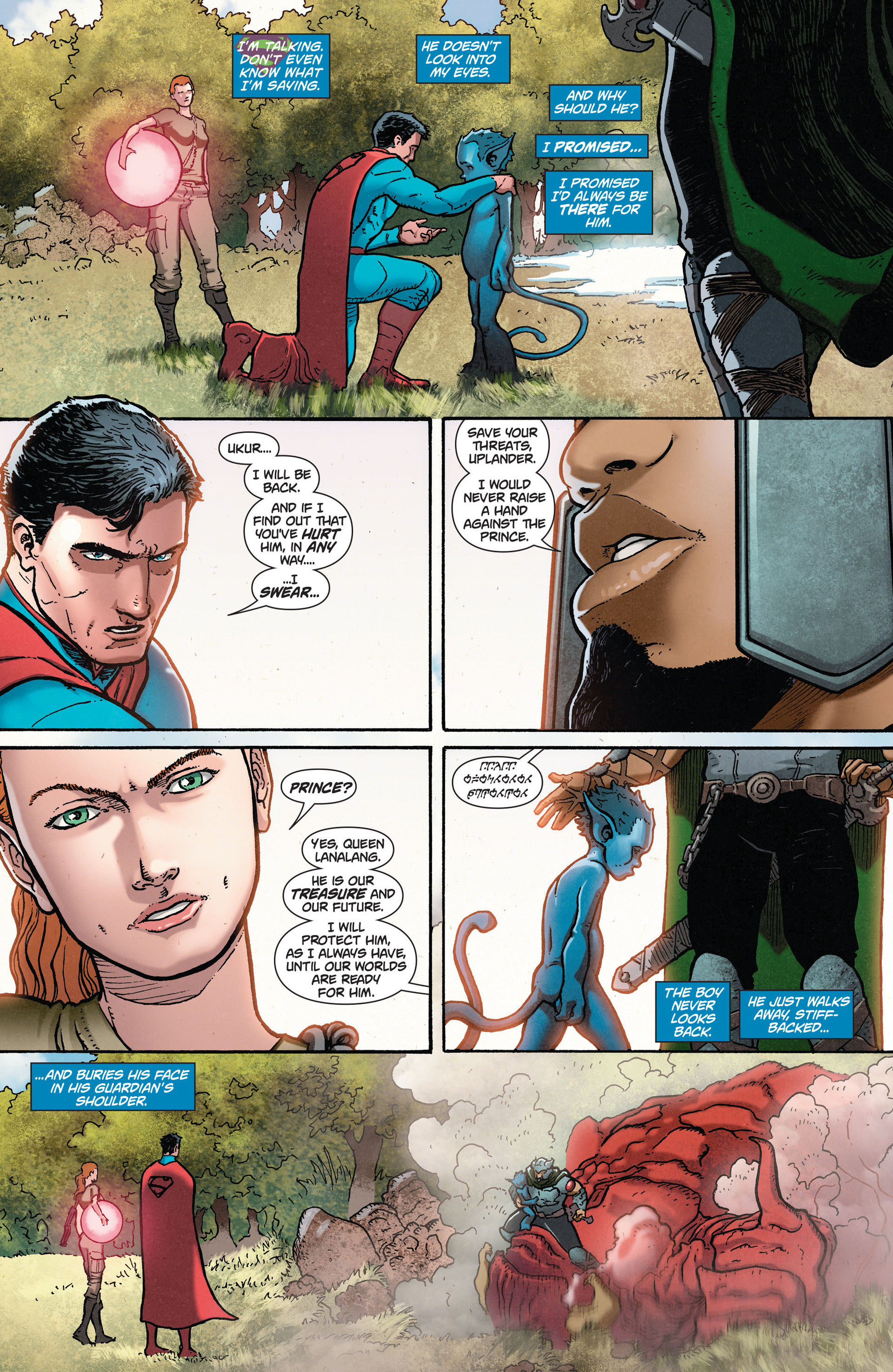 Read online Action Comics (2011) comic -  Issue #29 - 16