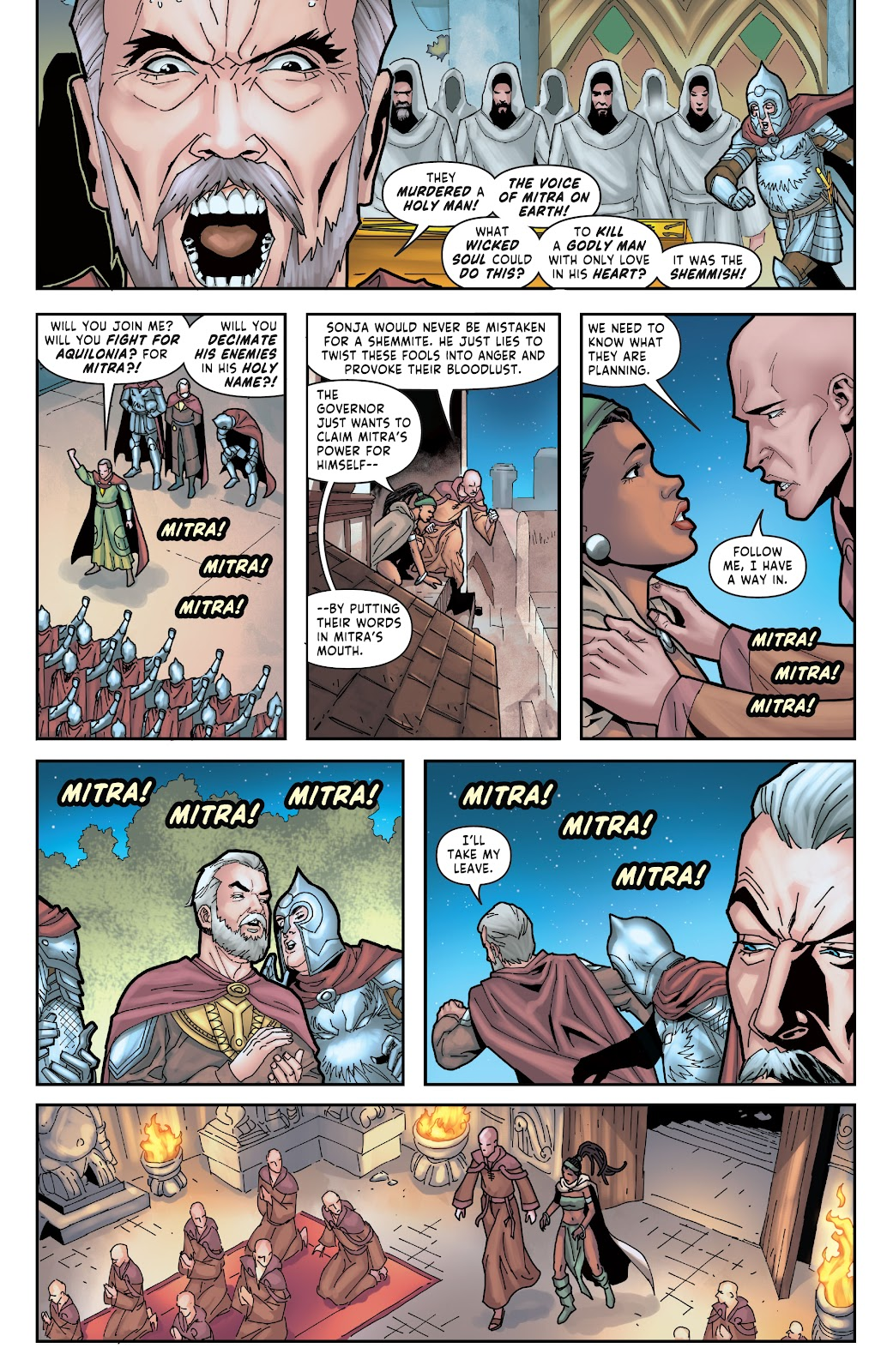 Red Sonja: The Price of Blood issue 2 - Page 20