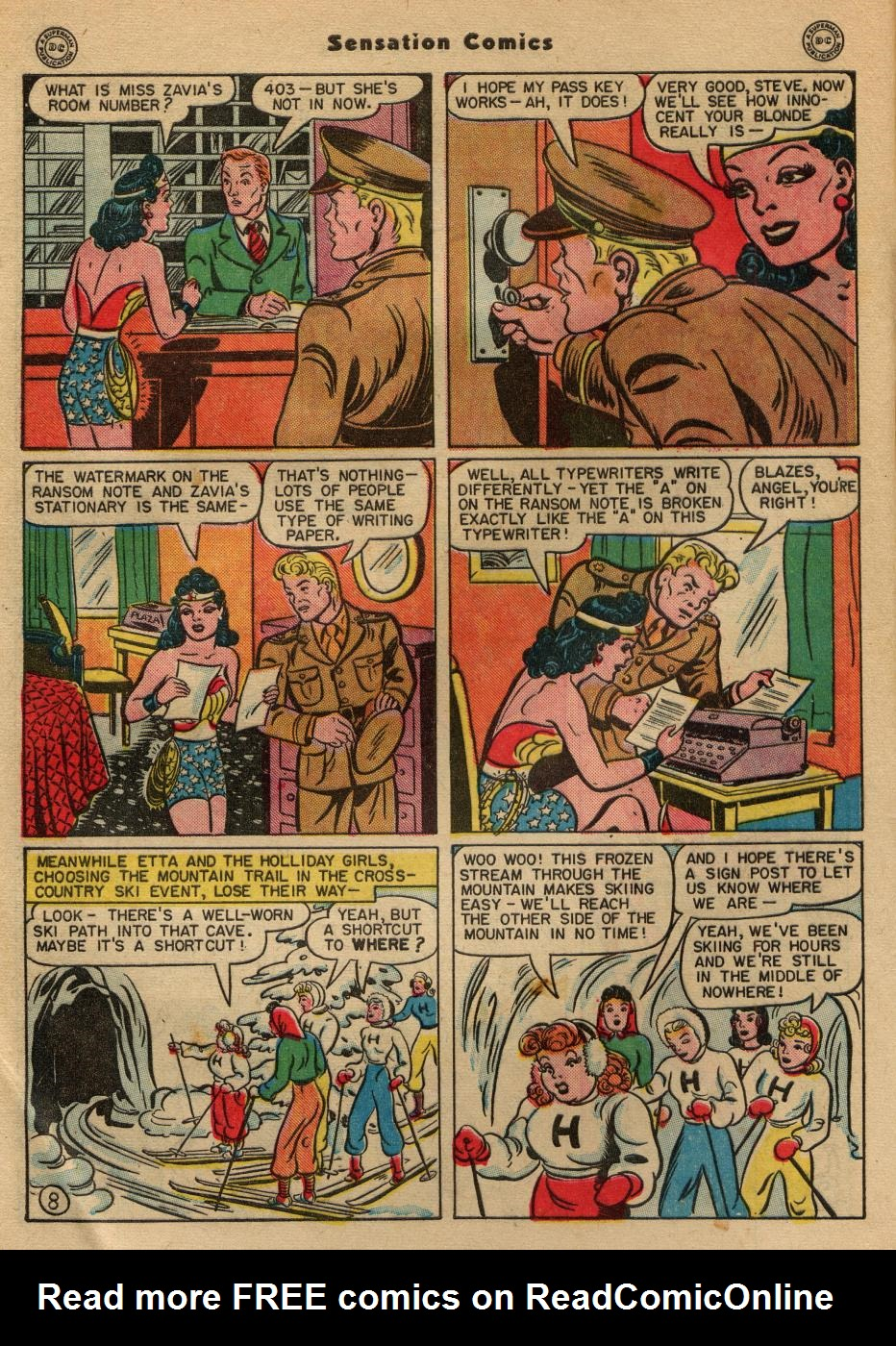 Read online Sensation (Mystery) Comics comic -  Issue #49 - 10