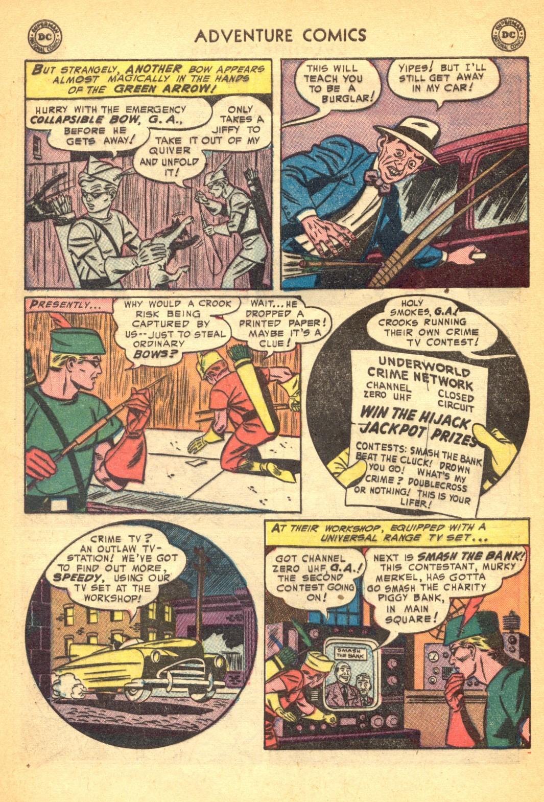 Read online Adventure Comics (1938) comic -  Issue #202 - 36