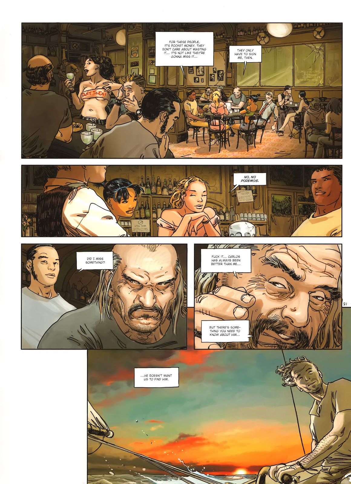 Read online Cutting Edge (2013) comic -  Issue #1 - 21