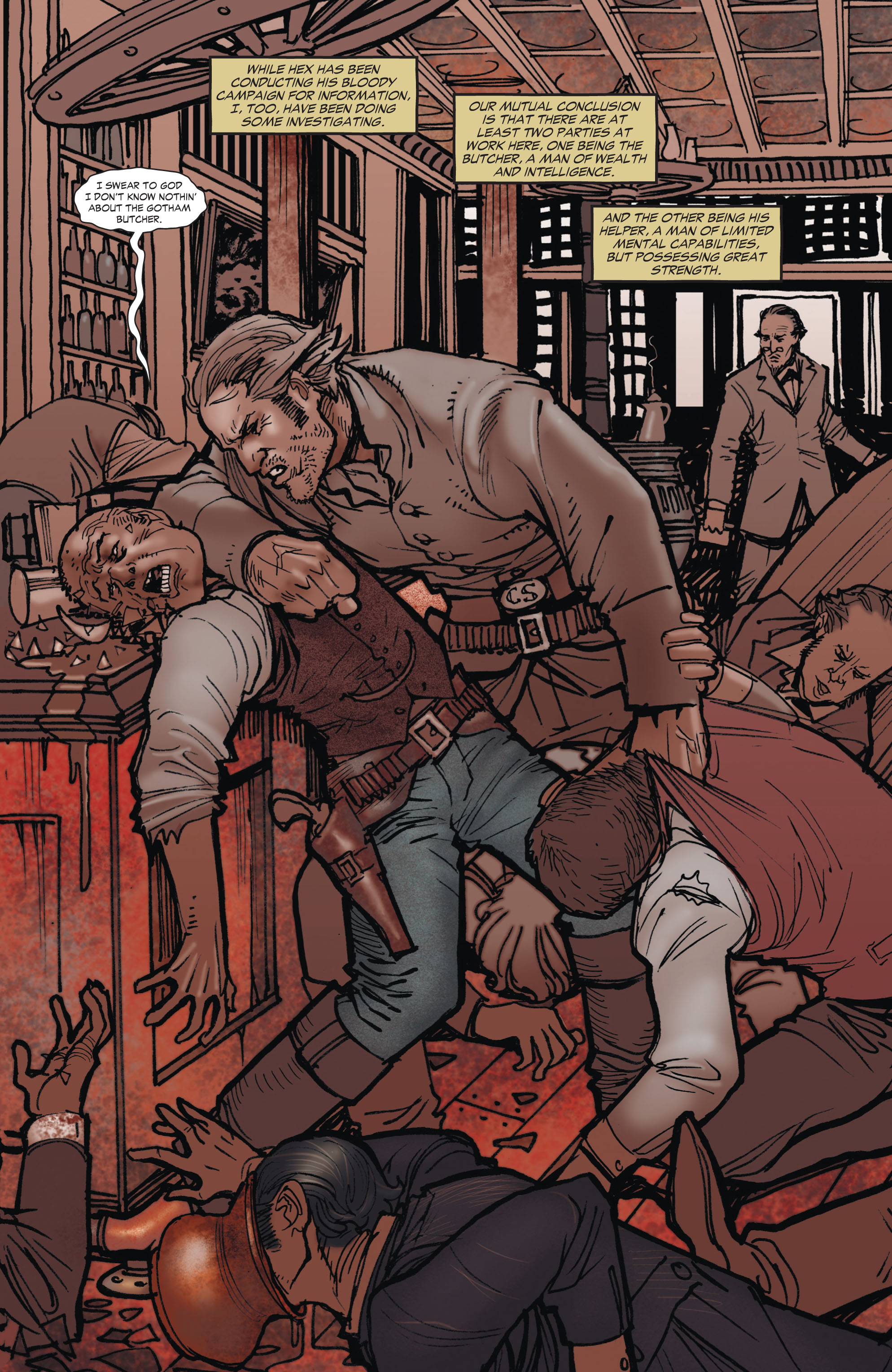 Read online All-Star Western (2011) comic -  Issue #1 - 24