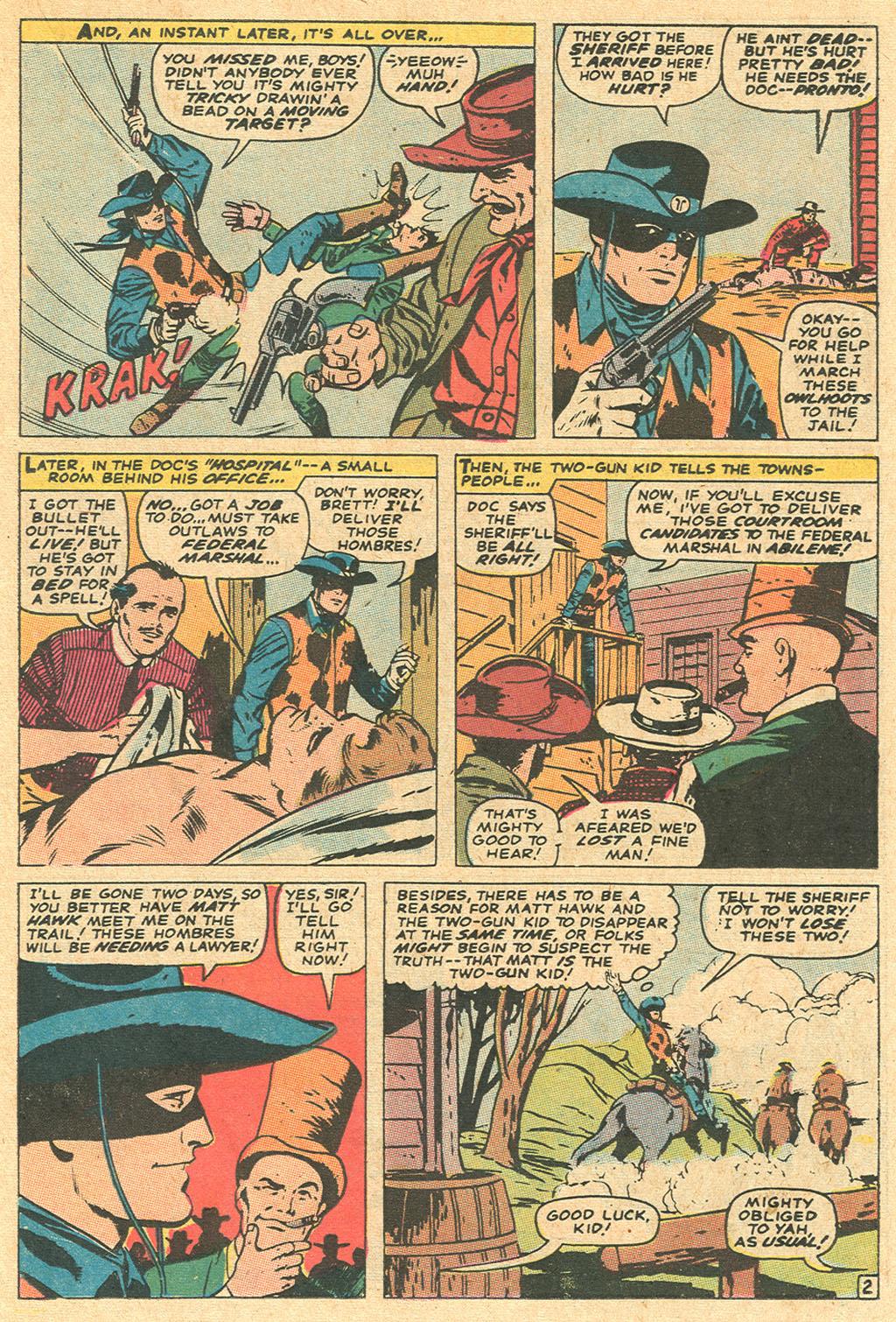 Read online Two-Gun Kid comic -  Issue #97 - 23