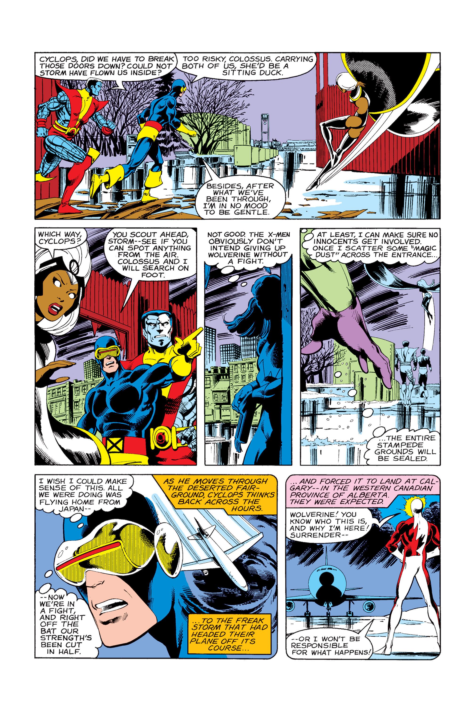 Uncanny X-Men (1963) 121 Page 2