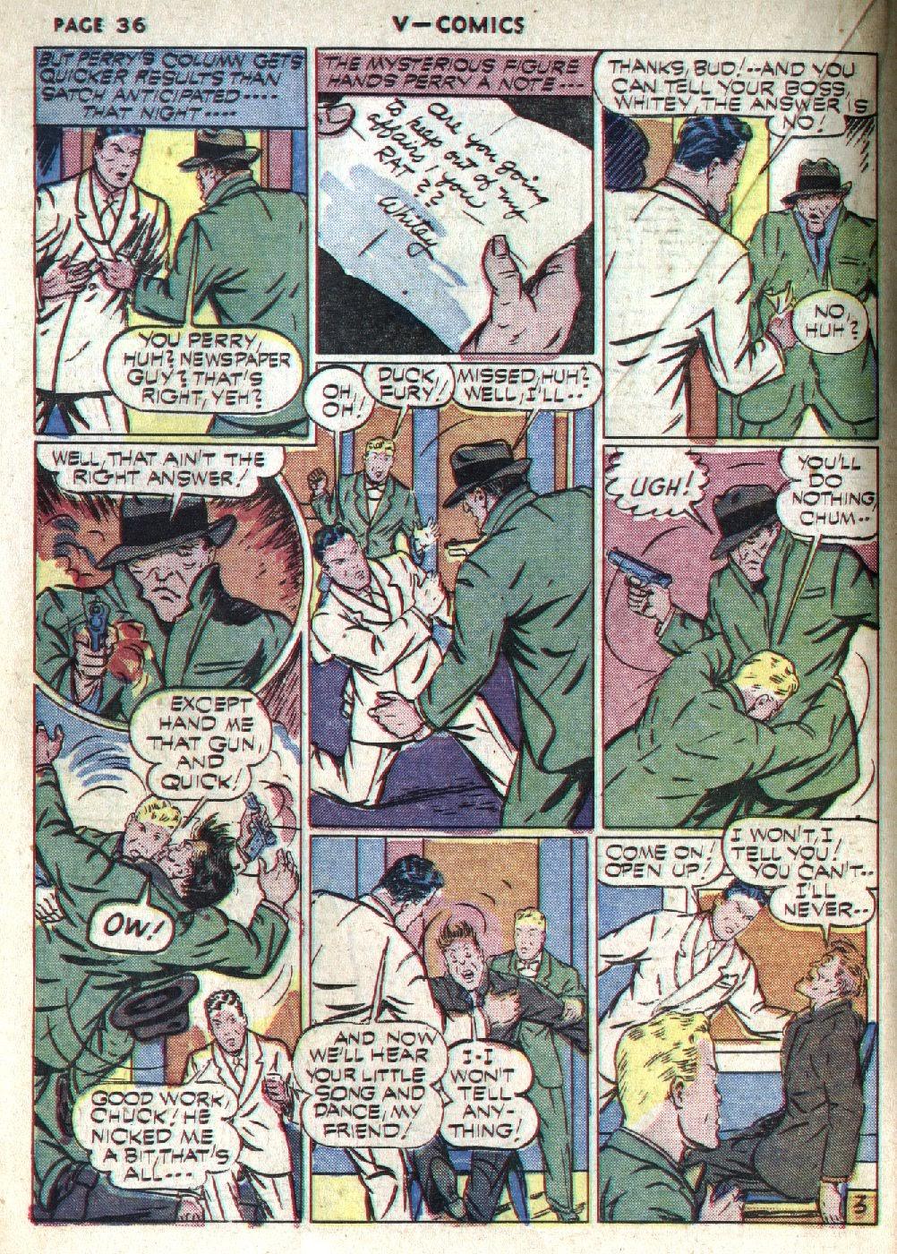 Read online V...- Comics comic -  Issue #1 - 37