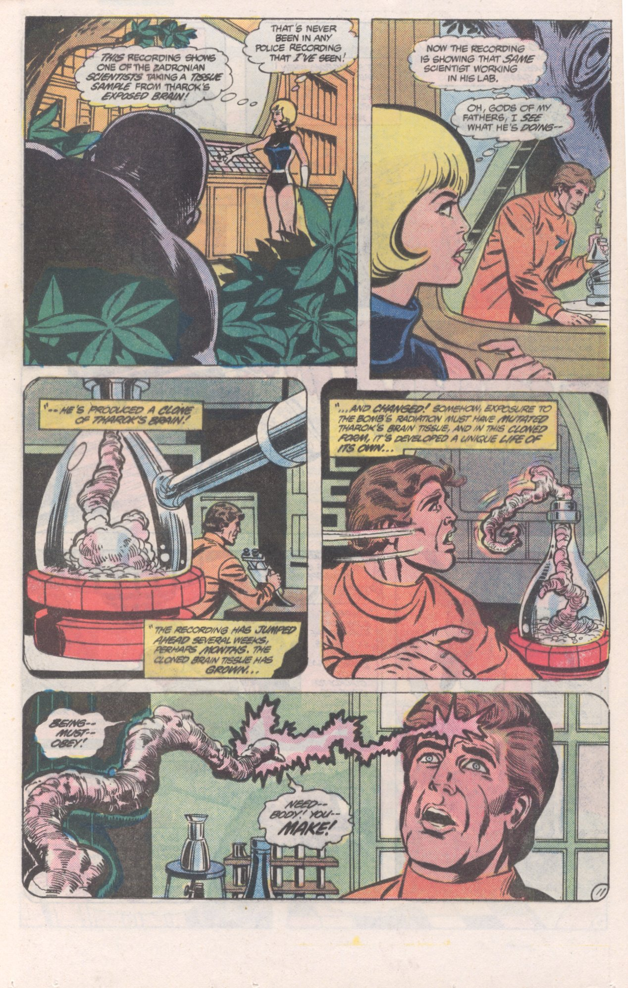 Legion of Super-Heroes (1980) 271 Page 11