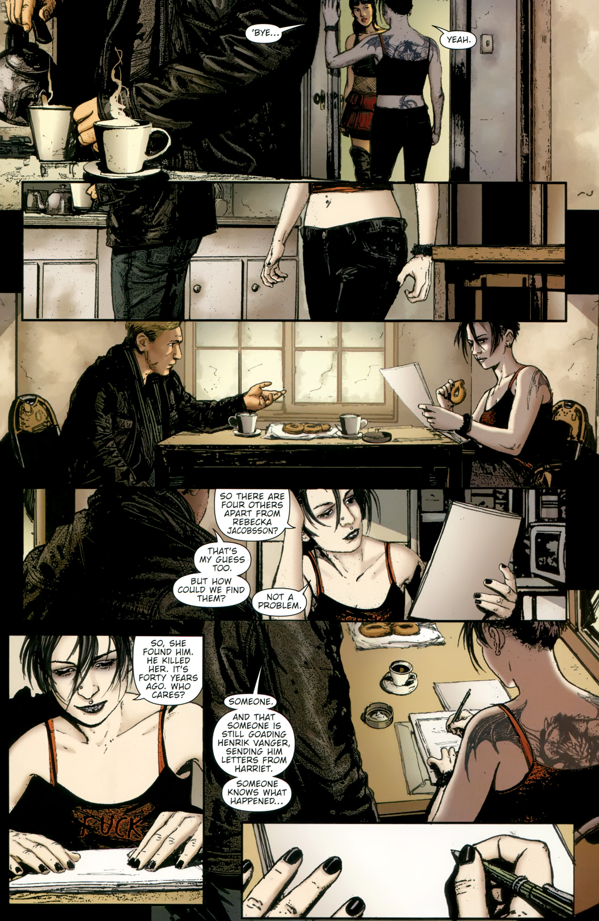 Read online The Girl With the Dragon Tattoo comic -  Issue # TPB 2 - 49