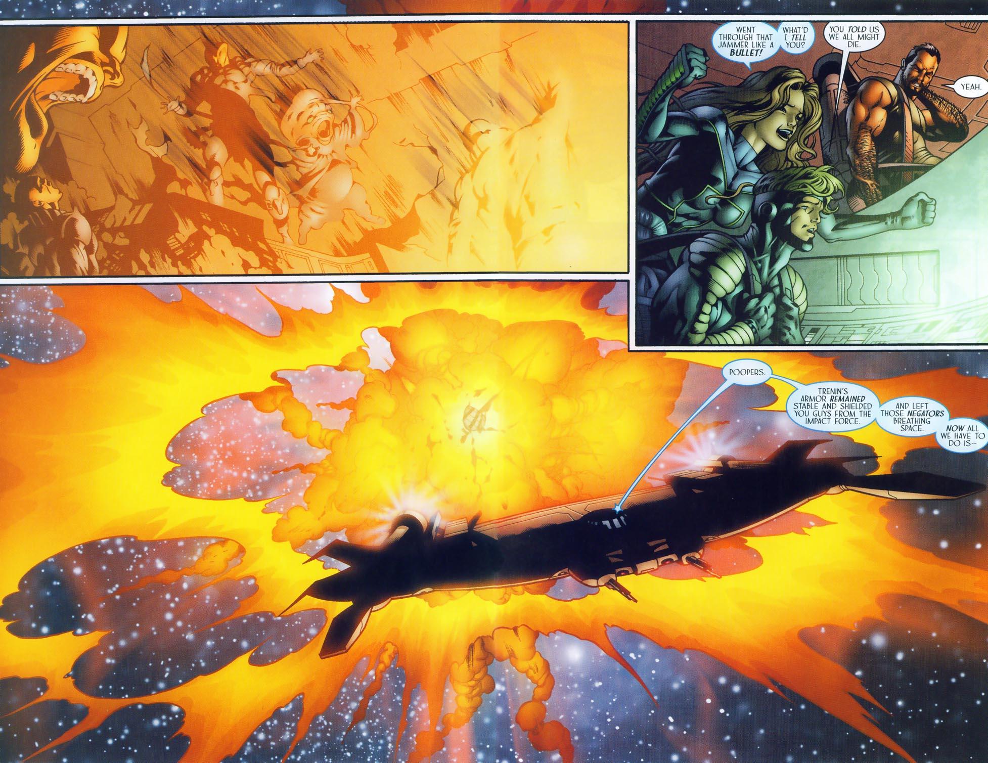 Read online Sigil (2000) comic -  Issue #37 - 17