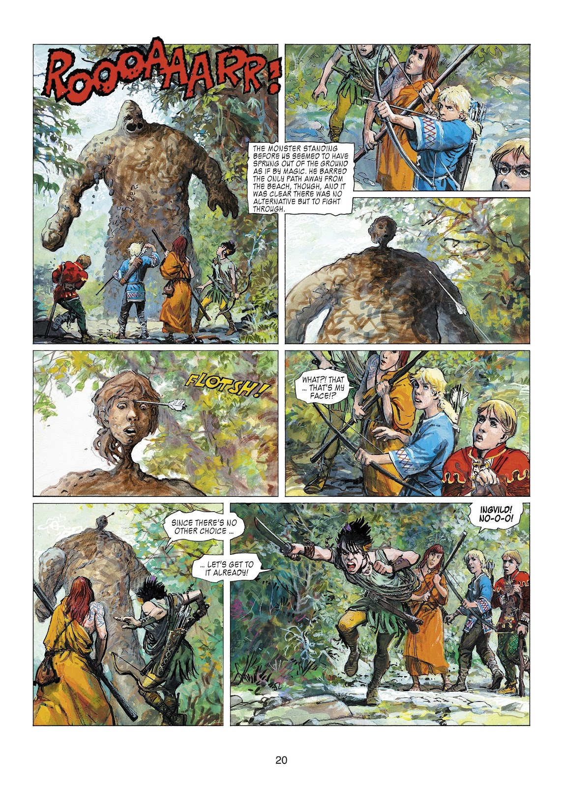 Read online Thorgal comic -  Issue #22 - 22