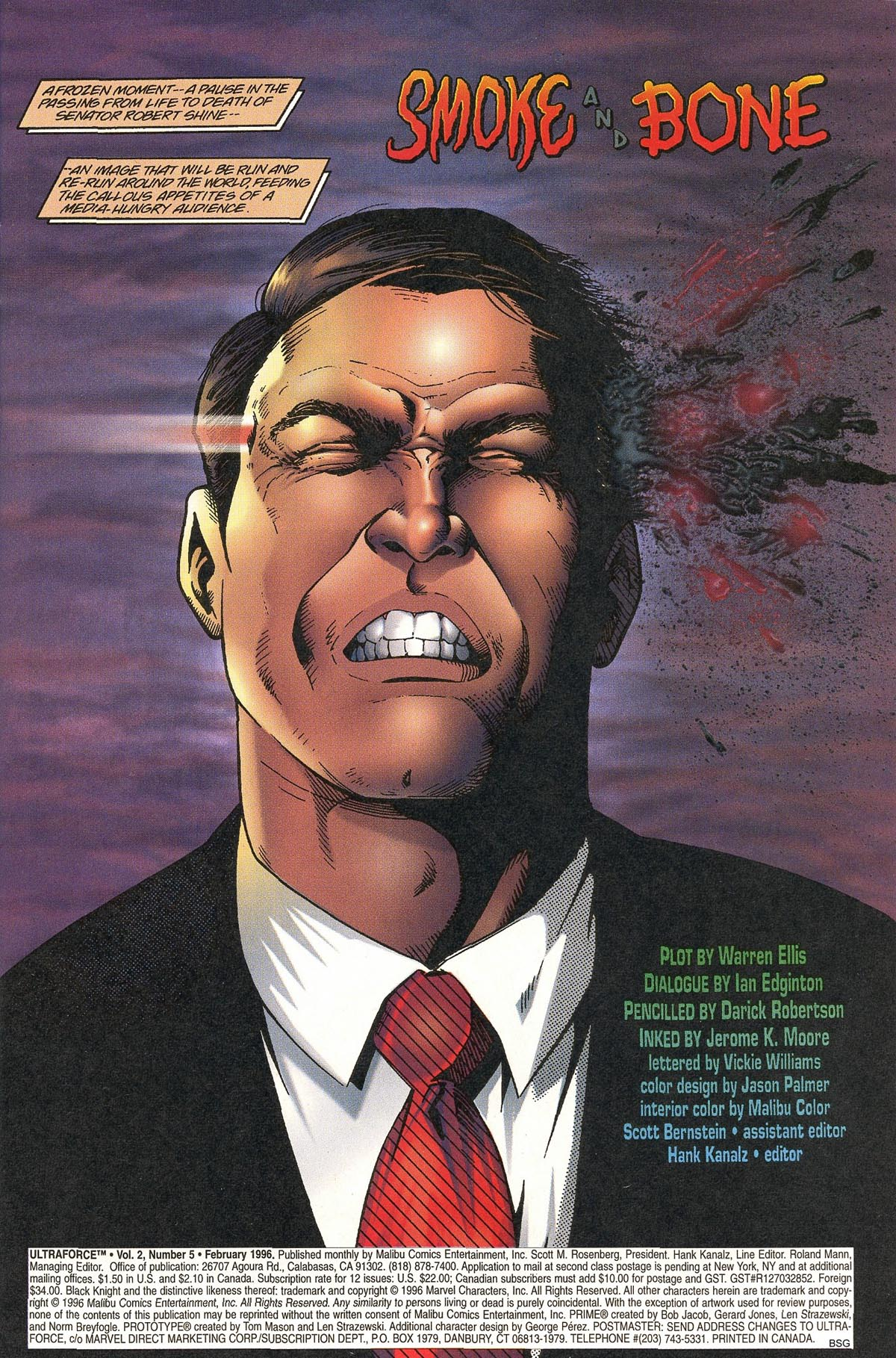 Read online UltraForce (1995) comic -  Issue #5 - 3