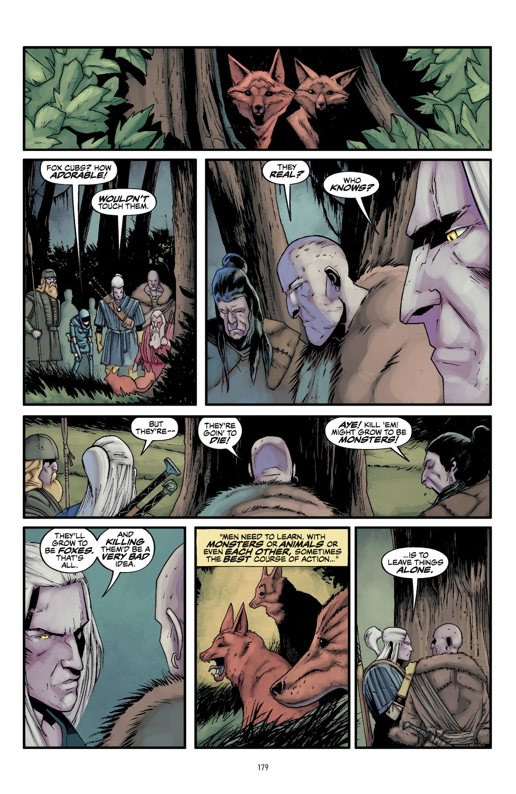 Read online The Witcher Omnibus comic -  Issue # TPB (Part 2) - 79