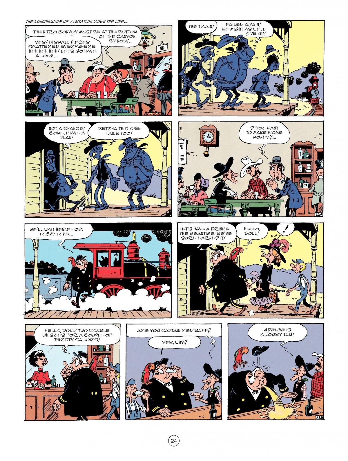 Read online A Lucky Luke Adventure comic -  Issue #53 - 24