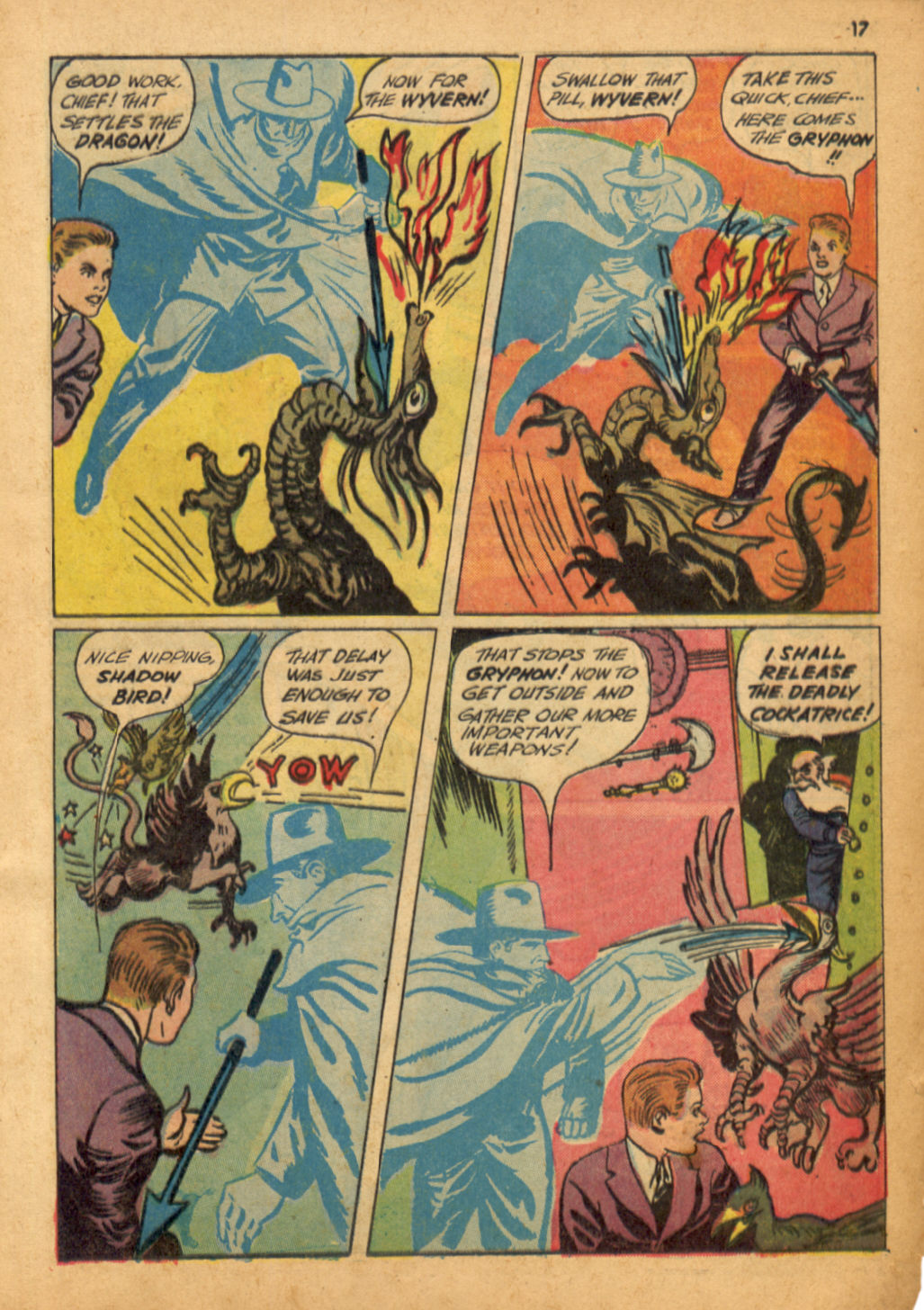 Read online Shadow Comics comic -  Issue #32 - 18