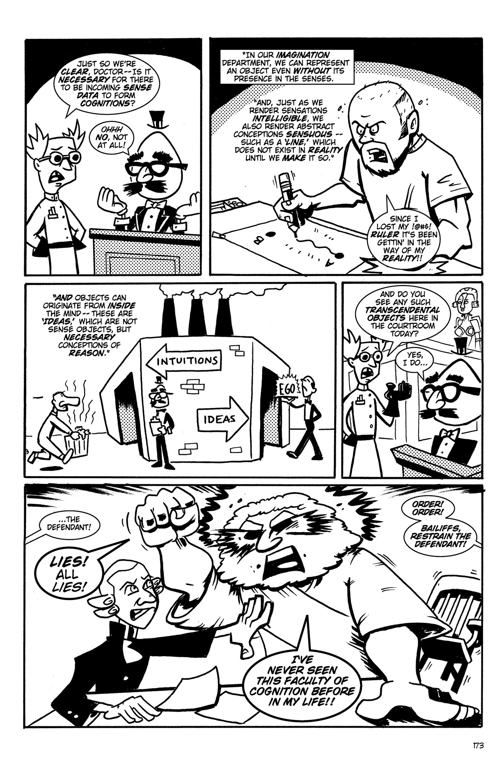 Read online Action Philosophers! comic -  Issue #Action Philosophers! TPB (Part 2) - 1