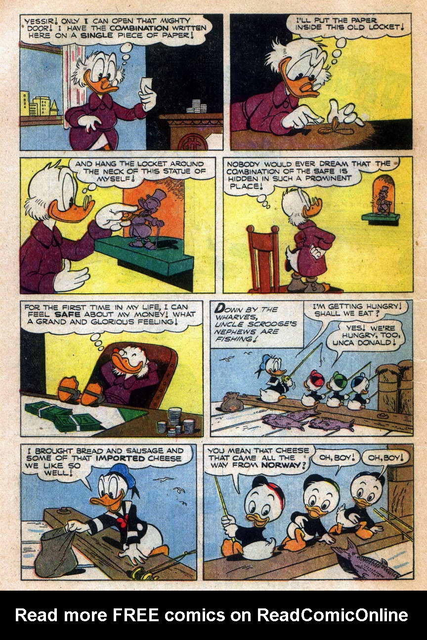 Read online Uncle Scrooge (1953) comic -  Issue #9 - 4