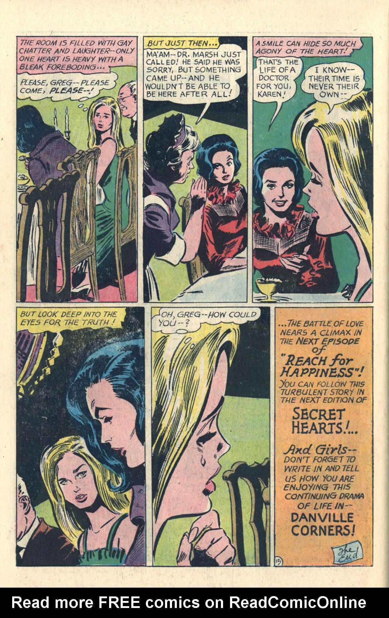 Read online Secret Hearts comic -  Issue #112 - 34