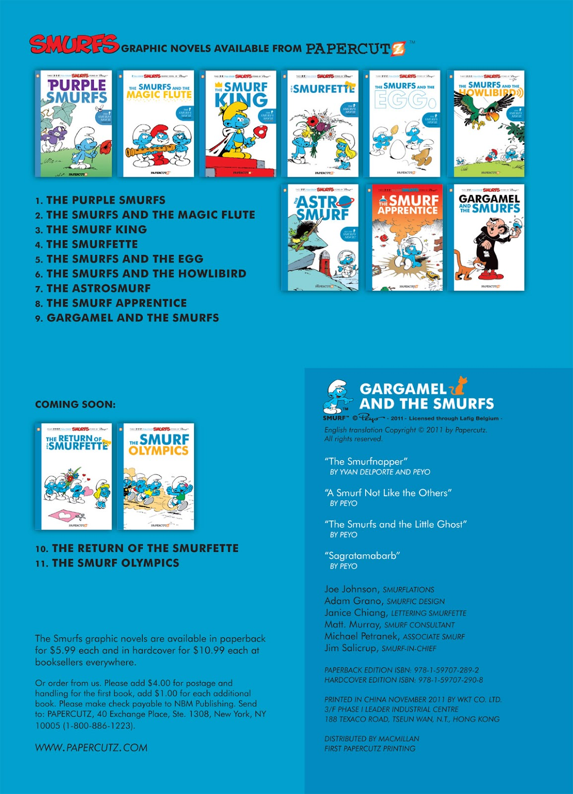 Read online The Smurfs comic -  Issue #9 - 4