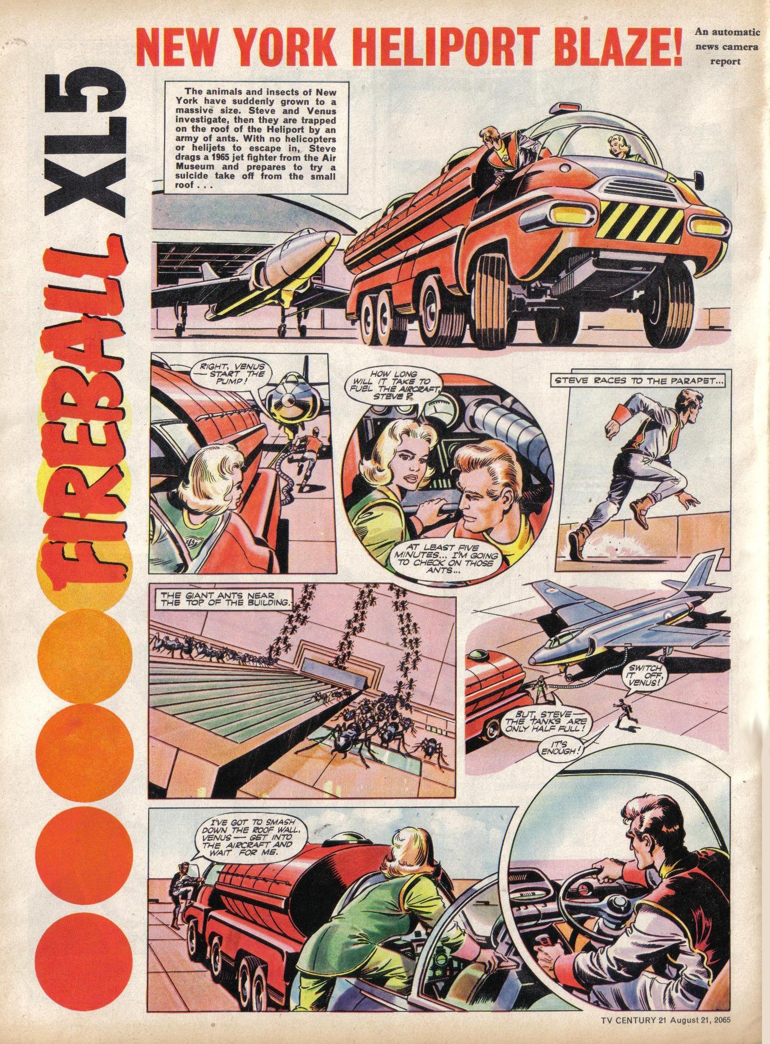 Read online TV Century 21 (TV 21) comic -  Issue #31 - 4