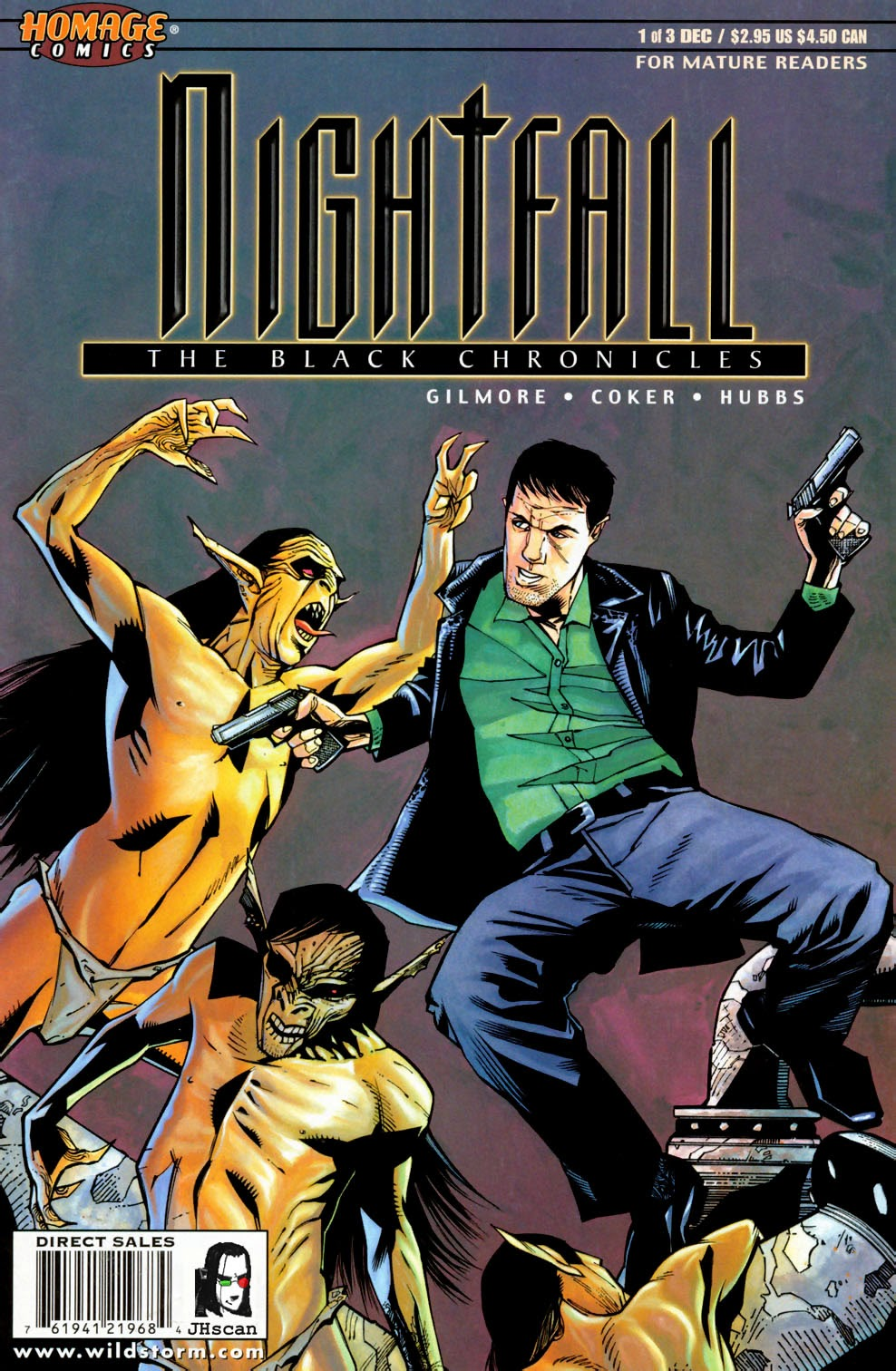 Nightfall: The Black Chronicles 1 Page 1