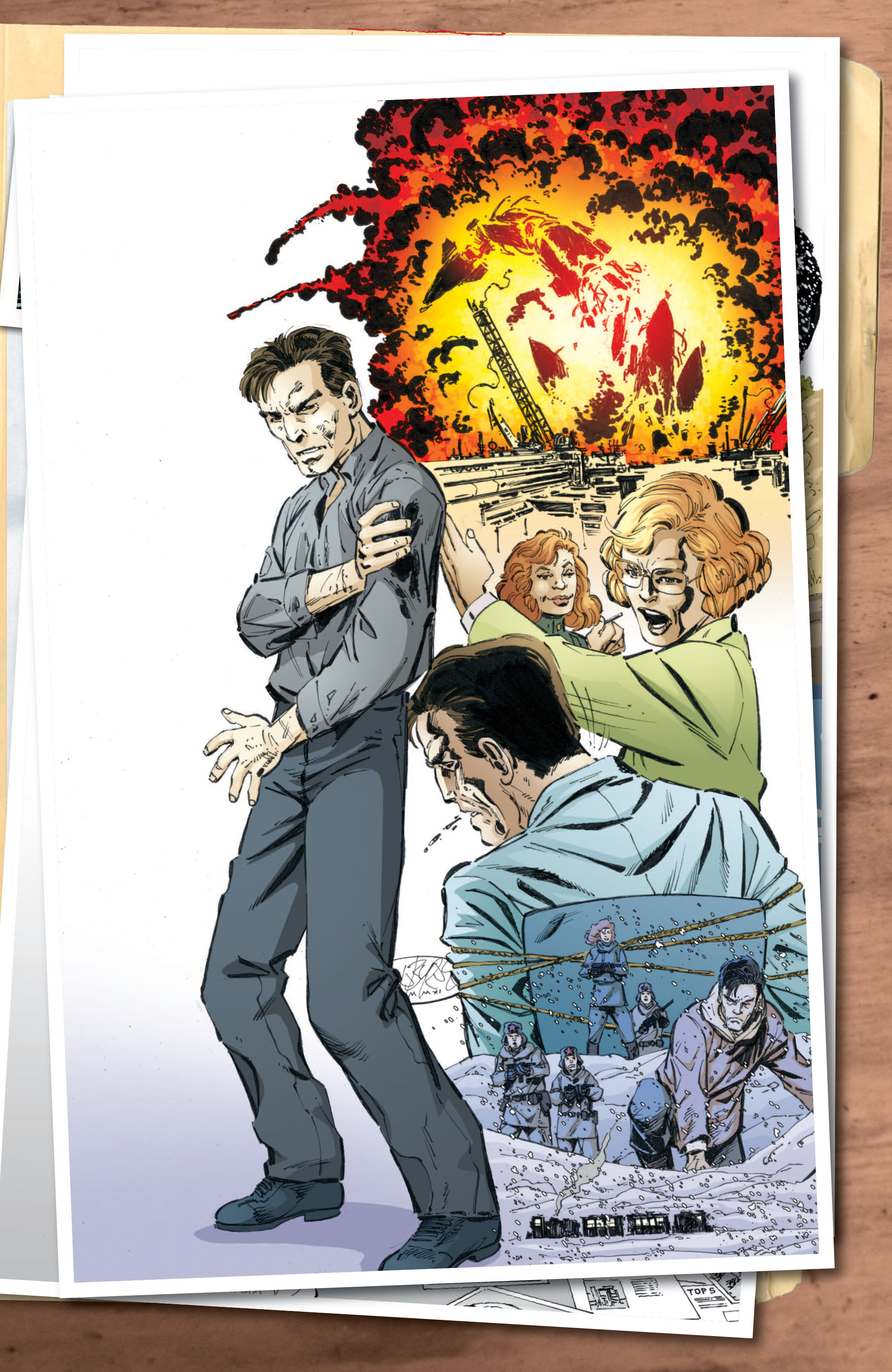 Read online Cold War comic -  Issue # TPB - 135