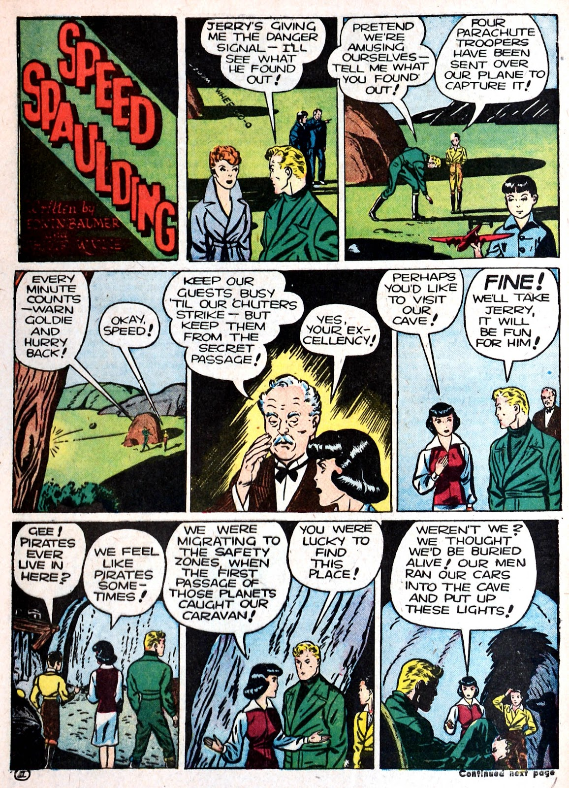 Read online Famous Funnies comic -  Issue #87 - 60