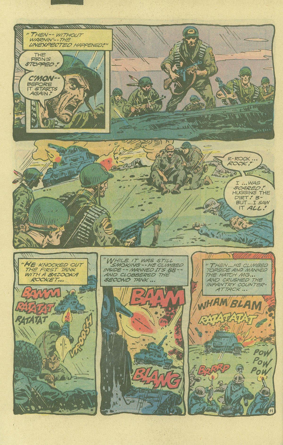 Read online Sgt. Rock comic -  Issue #402 - 15