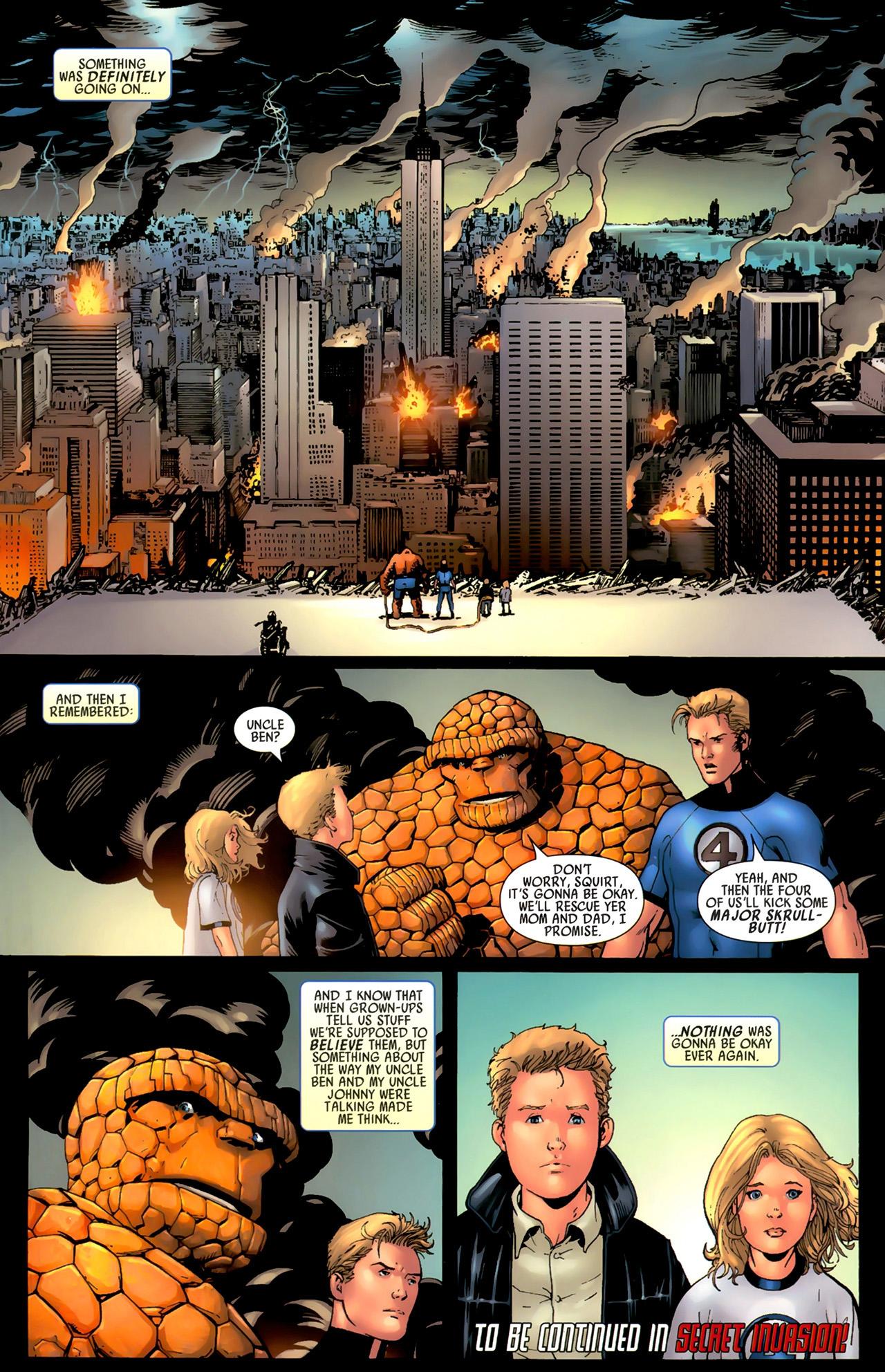 Read online Secret Invasion: Fantastic Four comic -  Issue #3 - 23