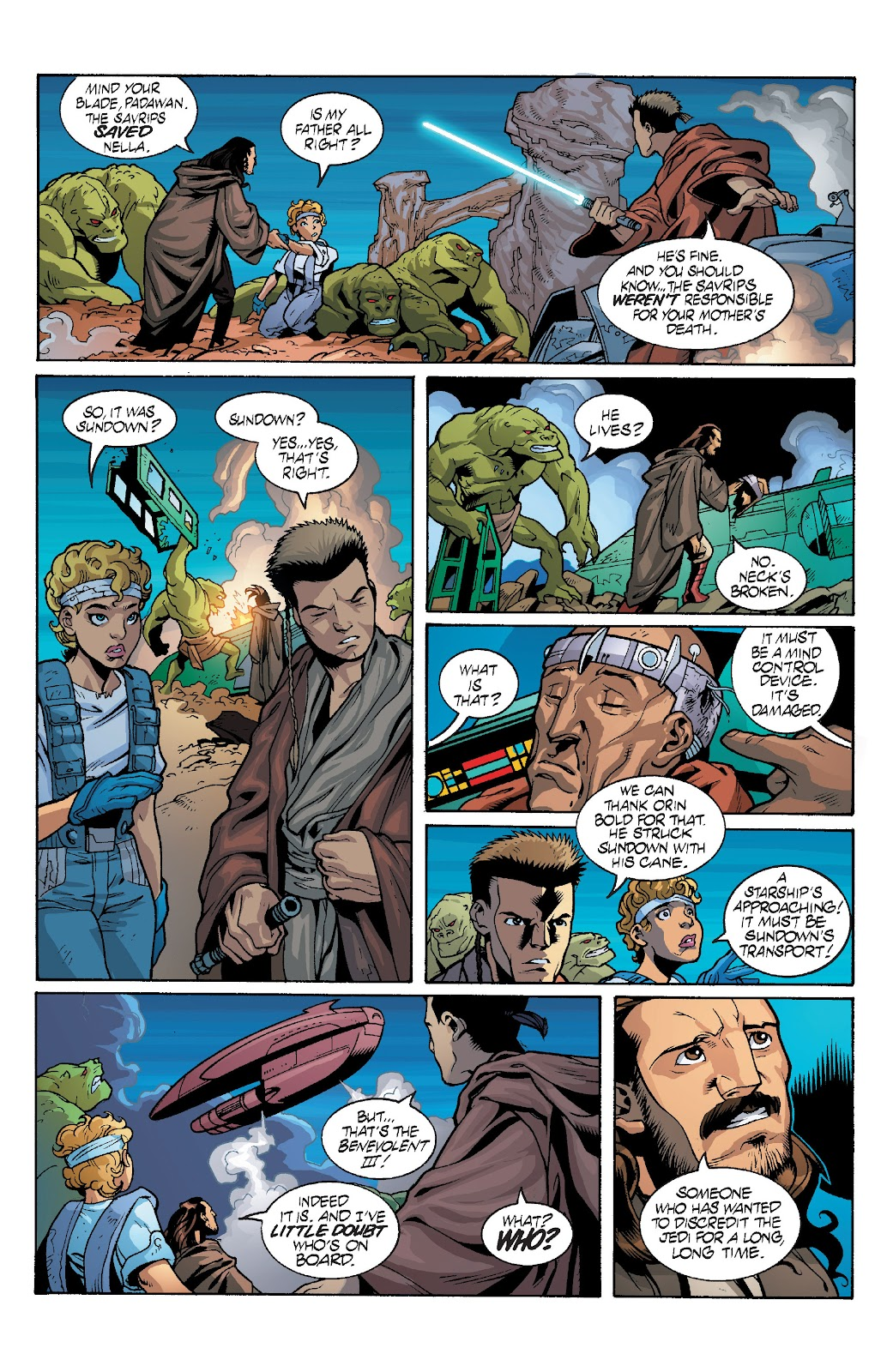 Read online Star Wars Legends: Rise of the Sith - Epic Collection comic -  Issue # TPB 1 (Part 4) - 37