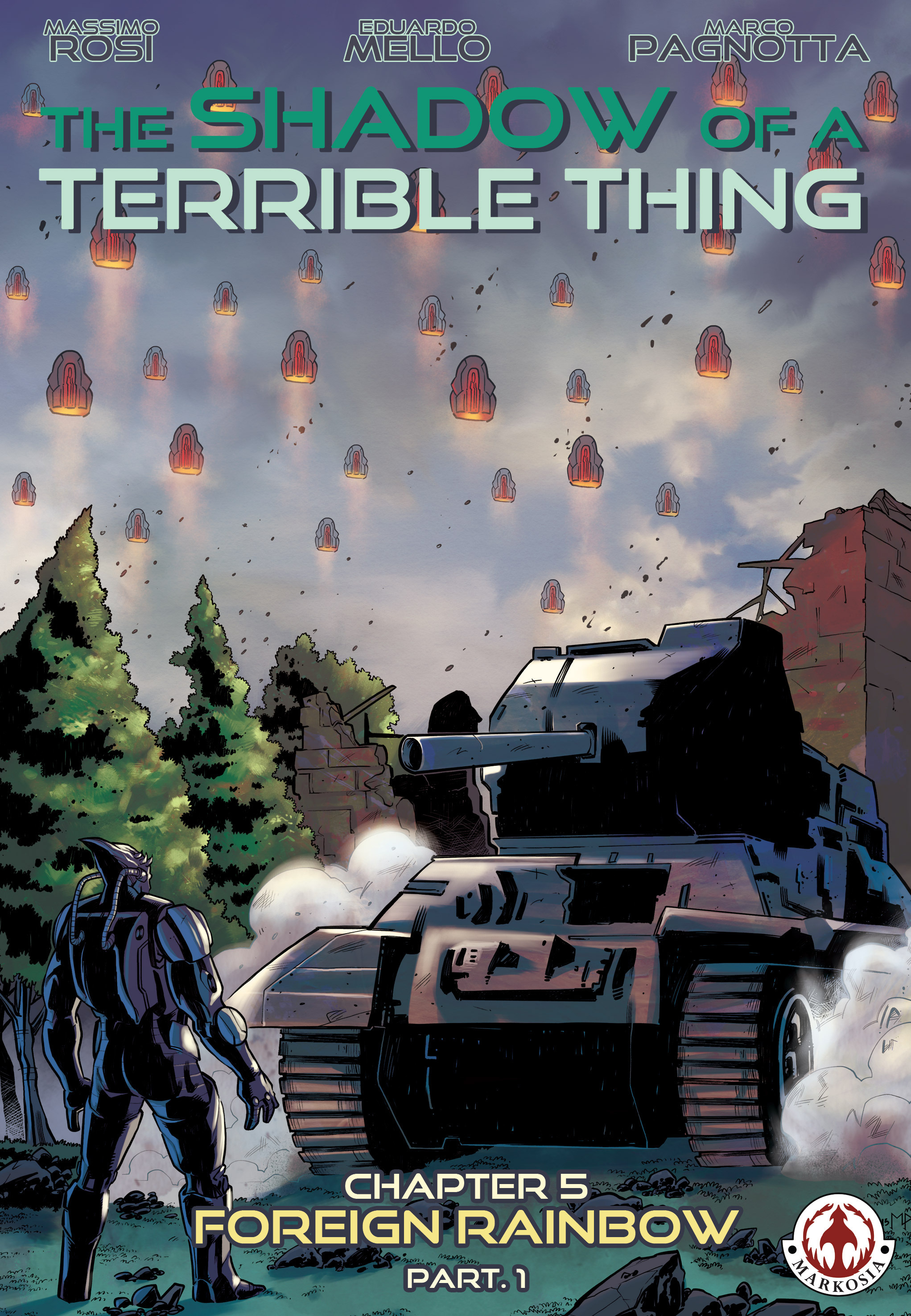 Read online The Shadow of a Terrible Thing comic -  Issue # TPB - 94