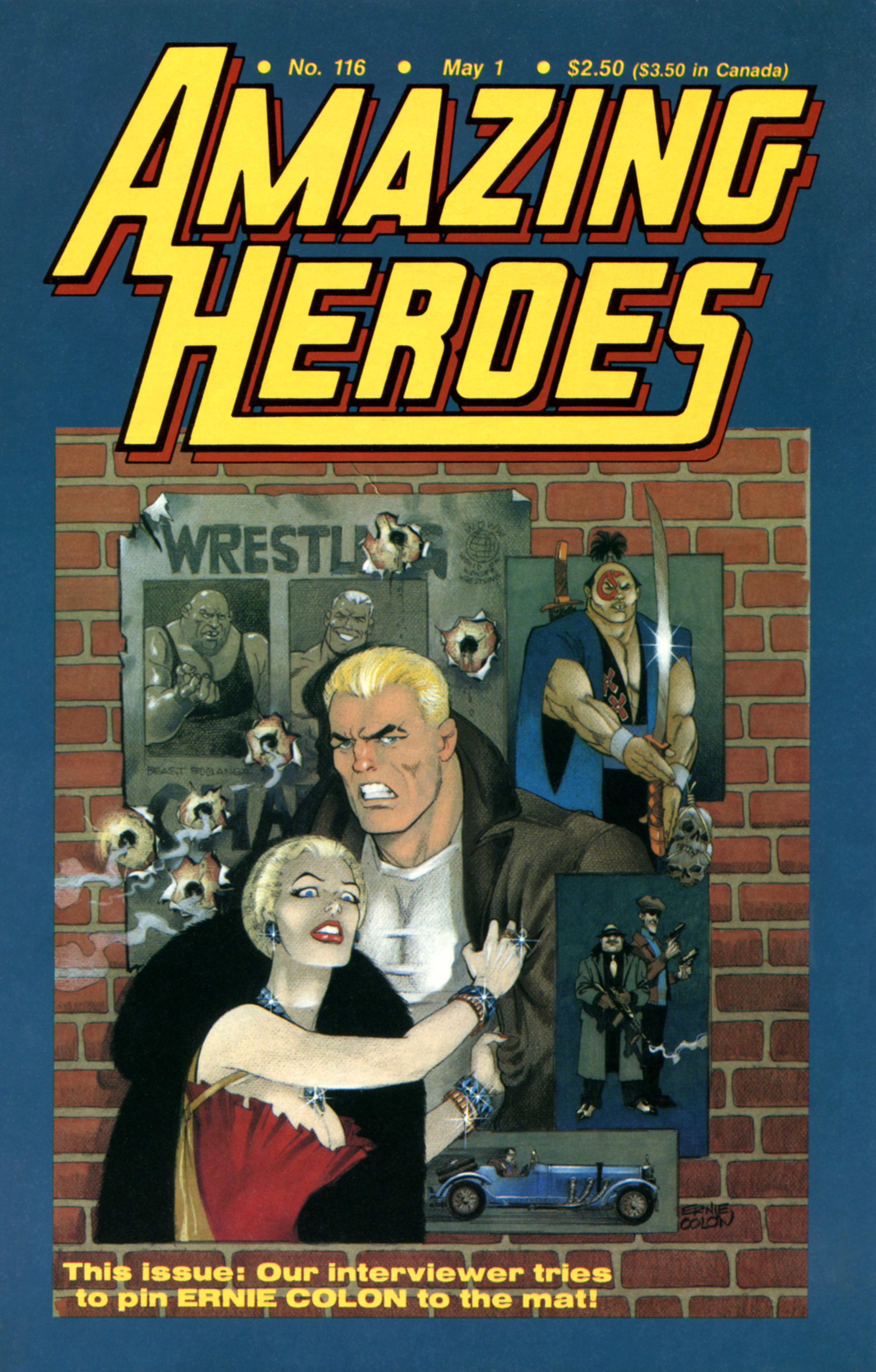 Read online Amazing Heroes comic -  Issue #116 - 1