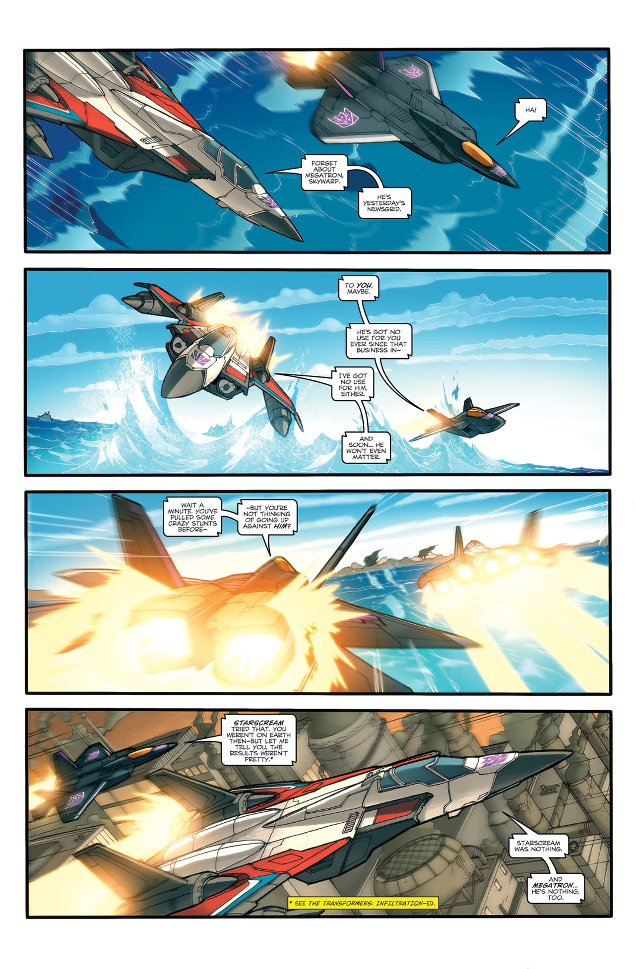 Read online Transformers Spotlight: Ramjet comic -  Issue # Full - 4